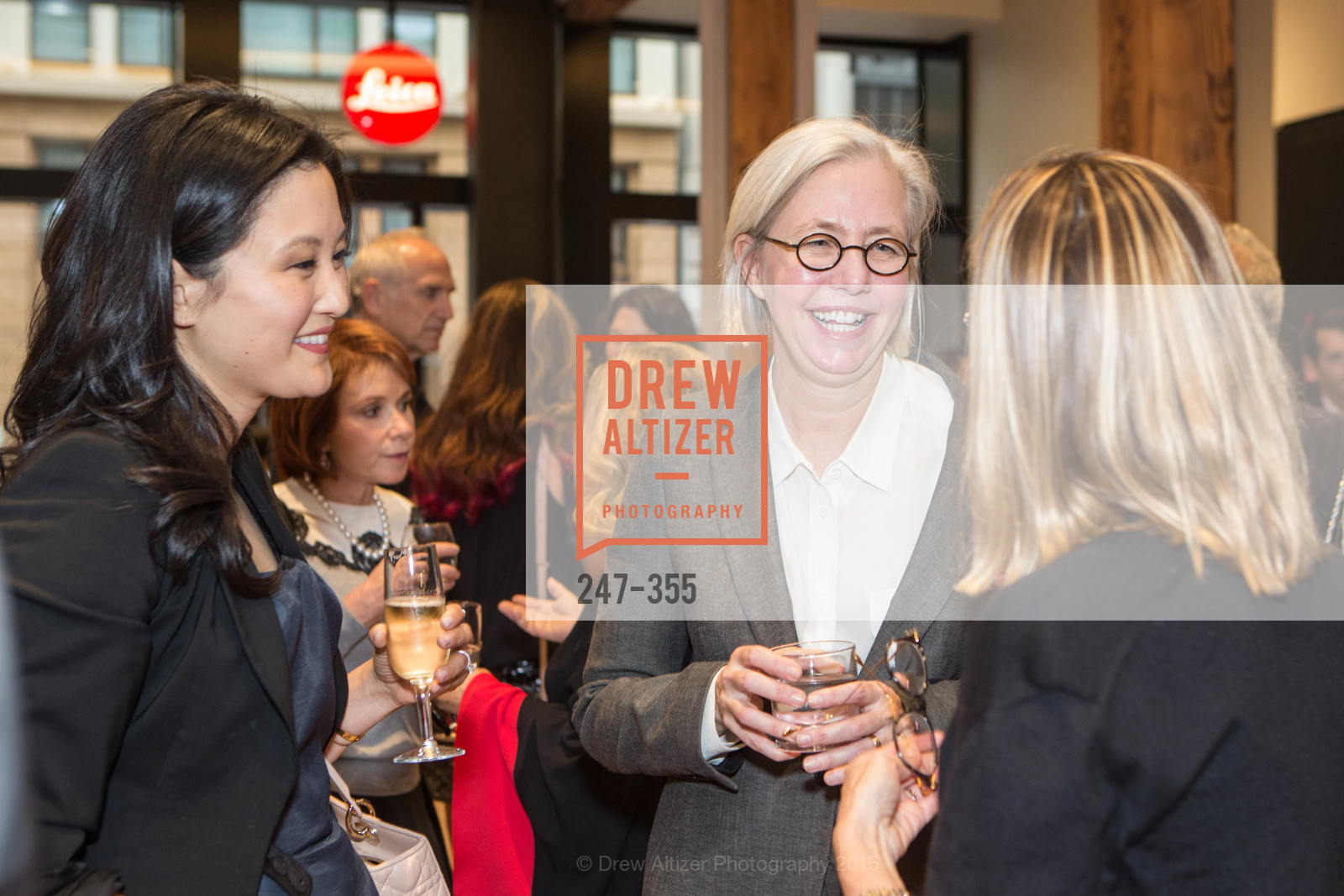 Catherine Kwong, Nan Keeton, SFMOMA Contemporary Vision Award Launch Party, Leica. 463 Bush St, October 8th, 2015,Drew Altizer, Drew Altizer Photography, full-service agency, private events, San Francisco photographer, photographer california