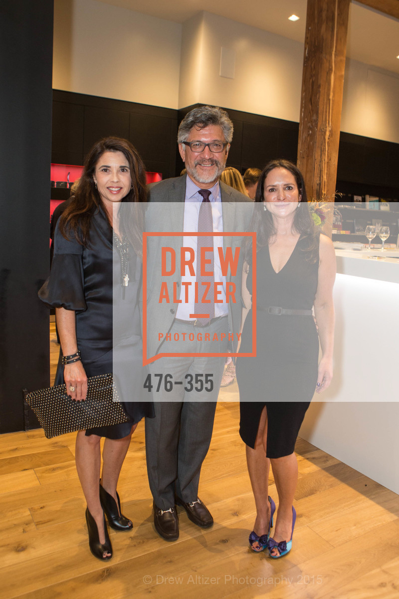 Candace Cavanaugh, Mario Diaz, Courtney Dallaire, SFMOMA Contemporary Vision Award Launch Party, Leica. 463 Bush St, October 8th, 2015,Drew Altizer, Drew Altizer Photography, full-service event agency, private events, San Francisco photographer, photographer California