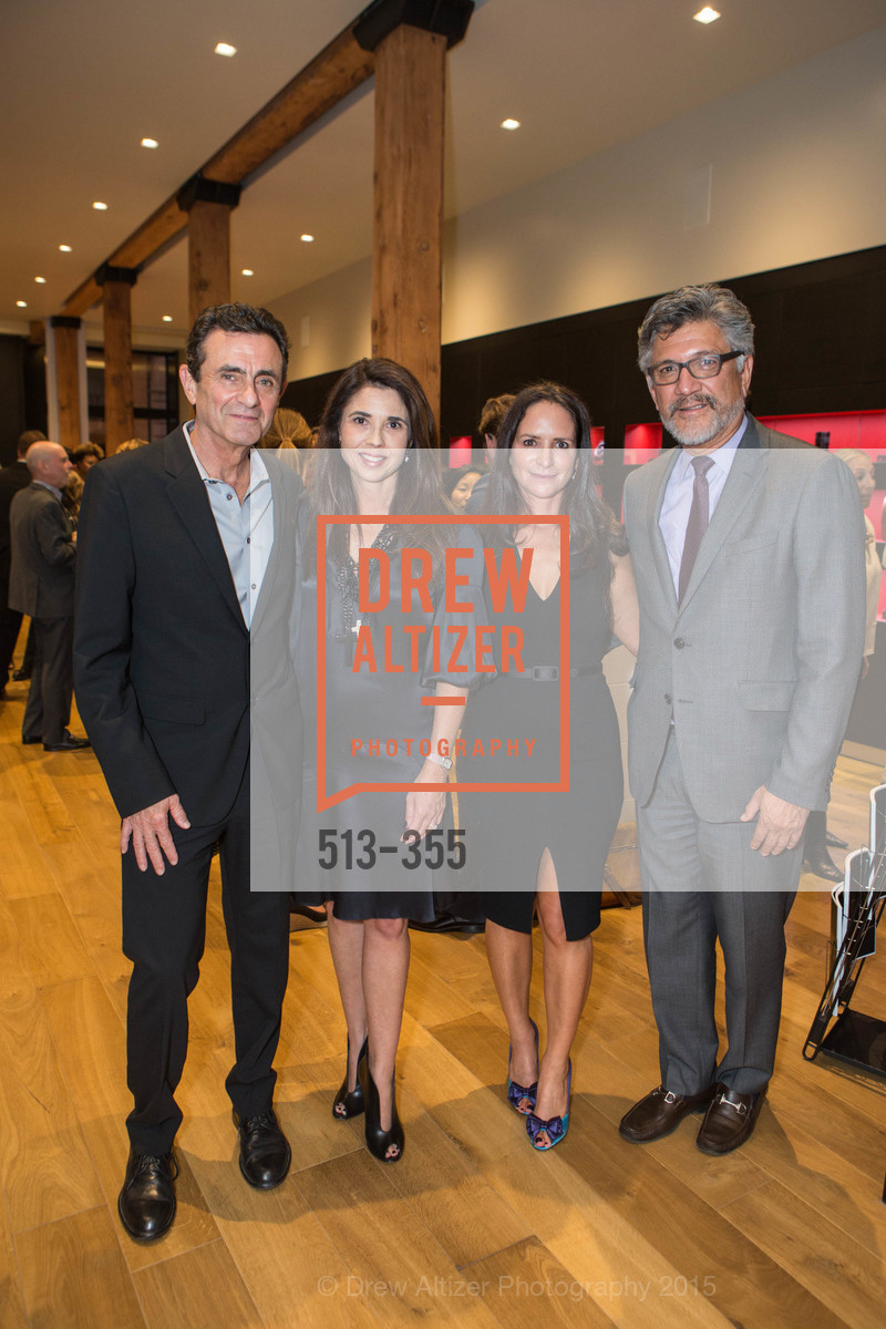 Neal Benezra, Candace Cavanaugh, Courtney Dallaire, Mario Diaz, SFMOMA Contemporary Vision Award Launch Party, Leica. 463 Bush St, October 8th, 2015,Drew Altizer, Drew Altizer Photography, full-service agency, private events, San Francisco photographer, photographer california