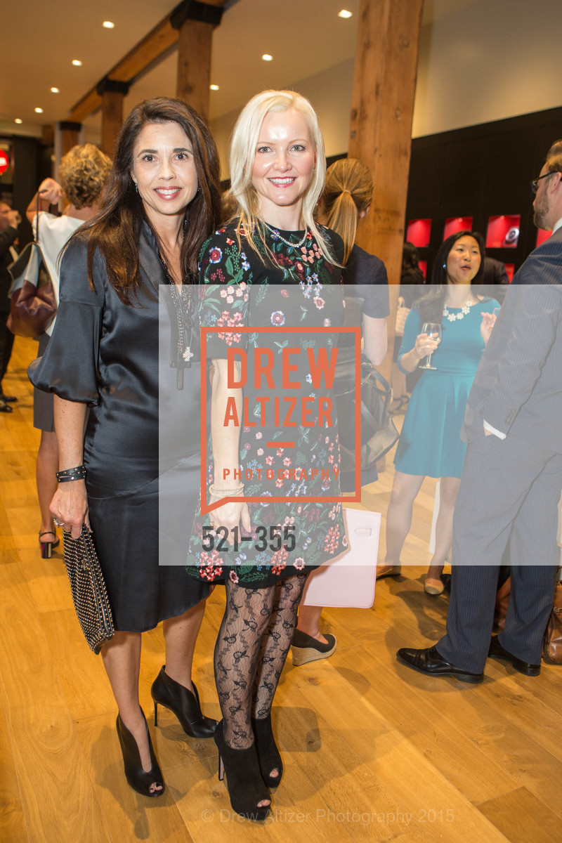Candace Cavanaugh, Nathalie Delrue-McGuire, SFMOMA Contemporary Vision Award Launch Party, Leica. 463 Bush St, October 8th, 2015,Drew Altizer, Drew Altizer Photography, full-service agency, private events, San Francisco photographer, photographer california