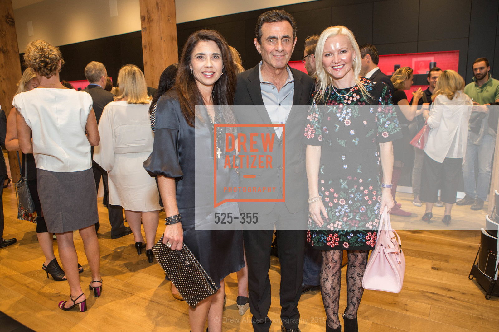 Candace Cavanaugh, Neal Benezra, Nathalie Delrue-McGuire, SFMOMA Contemporary Vision Award Launch Party, Leica. 463 Bush St, October 8th, 2015,Drew Altizer, Drew Altizer Photography, full-service agency, private events, San Francisco photographer, photographer california
