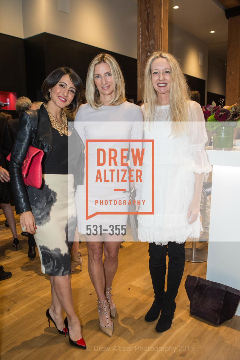 Sherry Lanzi, Meg Krebiel, Dorothy Torresi, SFMOMA Contemporary Vision Award Launch Party, Leica. 463 Bush St, October 8th, 2015,Drew Altizer, Drew Altizer Photography, full-service agency, private events, San Francisco photographer, photographer california