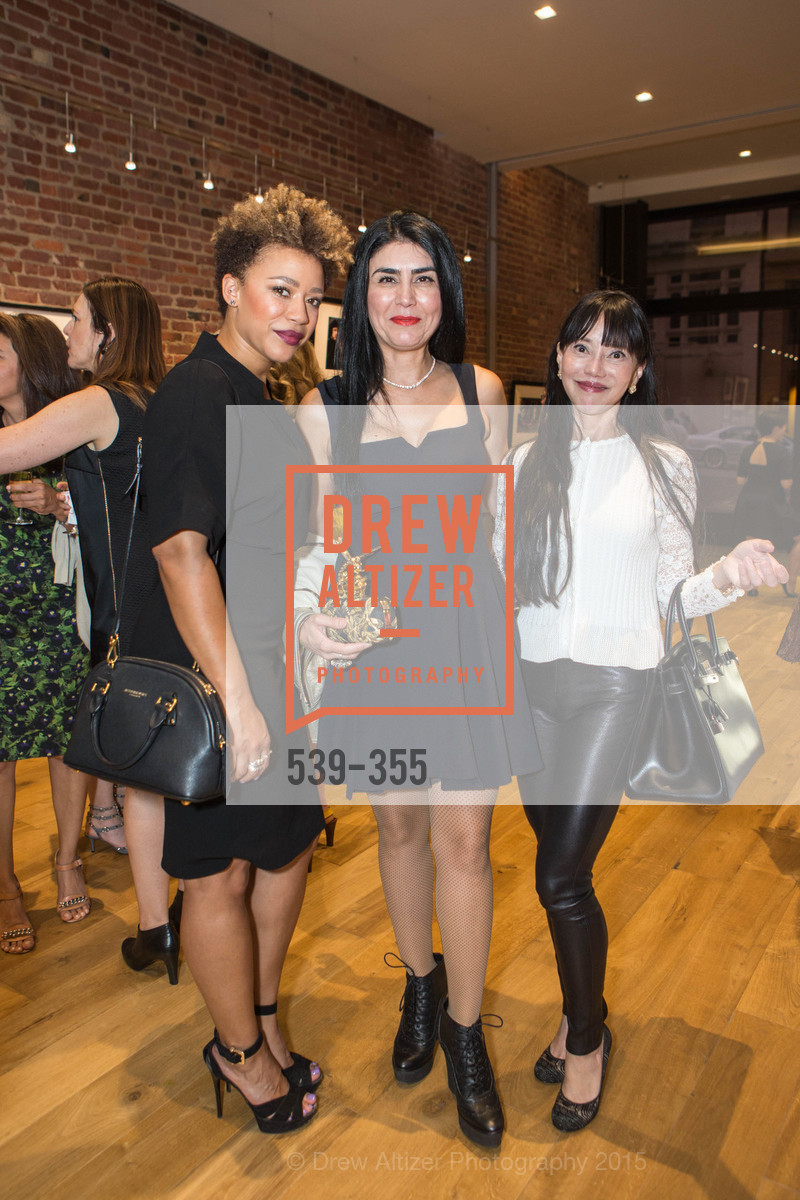 Michelle Daniels, Afsaneh Akhtari, France Szeto, SFMOMA Contemporary Vision Award Launch Party, Leica. 463 Bush St, October 8th, 2015,Drew Altizer, Drew Altizer Photography, full-service agency, private events, San Francisco photographer, photographer california