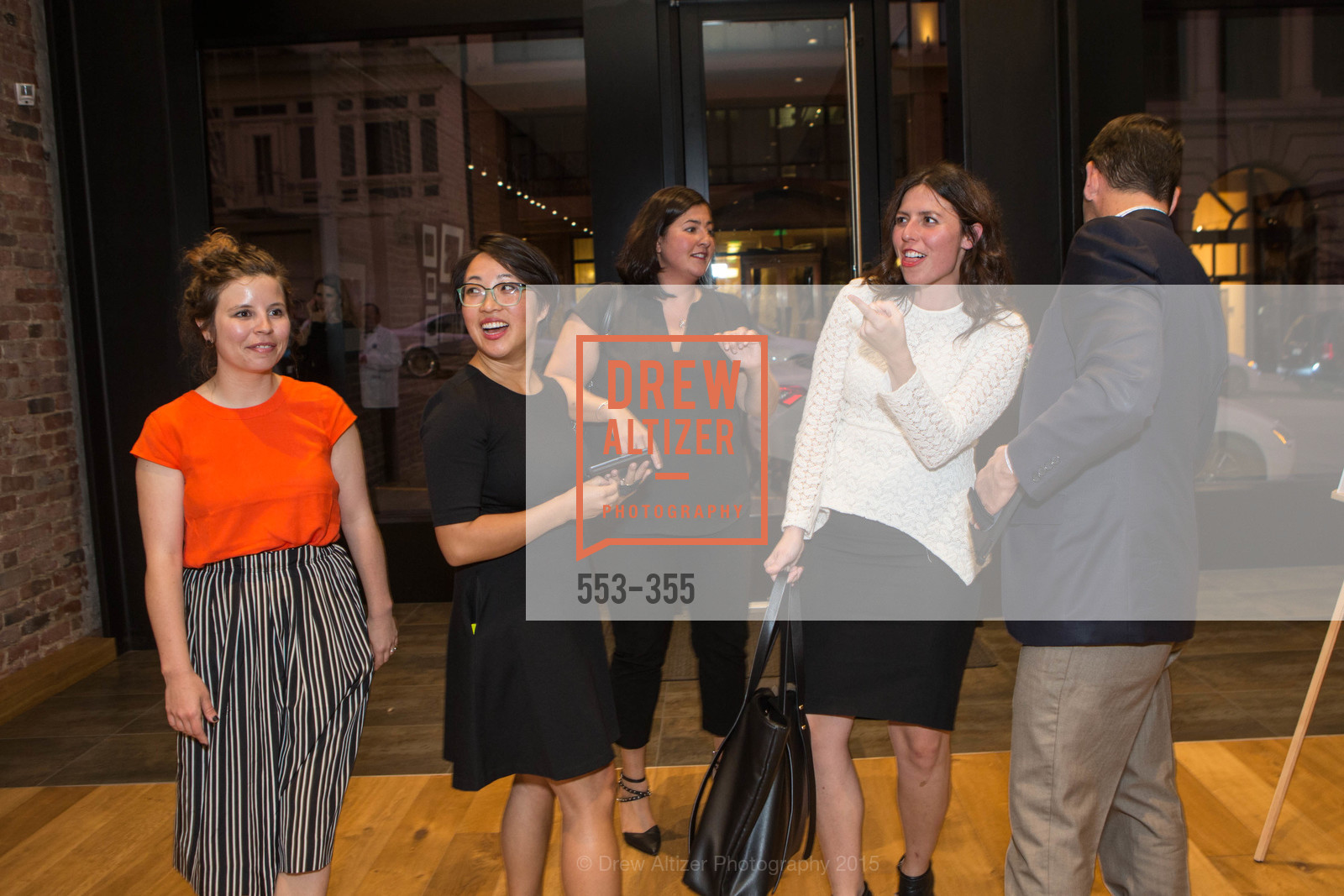 Jenong Ideros, Victoria Chao, SFMOMA Contemporary Vision Award Launch Party, Leica. 463 Bush St, October 8th, 2015,Drew Altizer, Drew Altizer Photography, full-service agency, private events, San Francisco photographer, photographer california