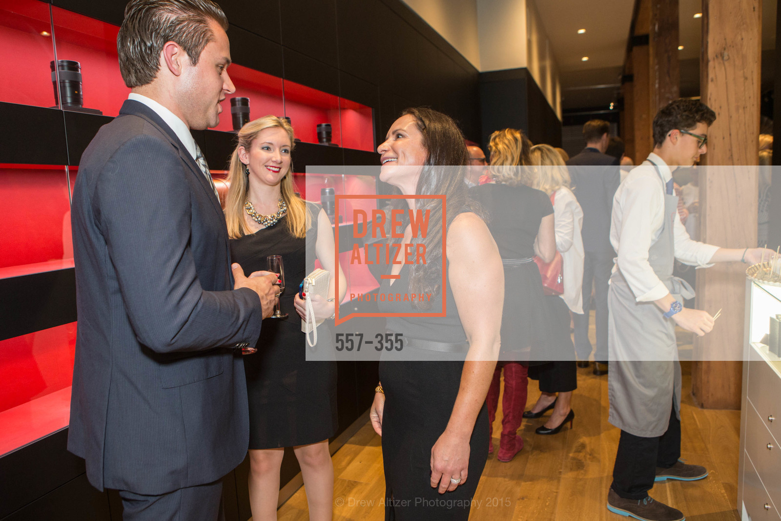 Katie Lanier, Courtney Dallaire, SFMOMA Contemporary Vision Award Launch Party, Leica. 463 Bush St, October 8th, 2015,Drew Altizer, Drew Altizer Photography, full-service agency, private events, San Francisco photographer, photographer california