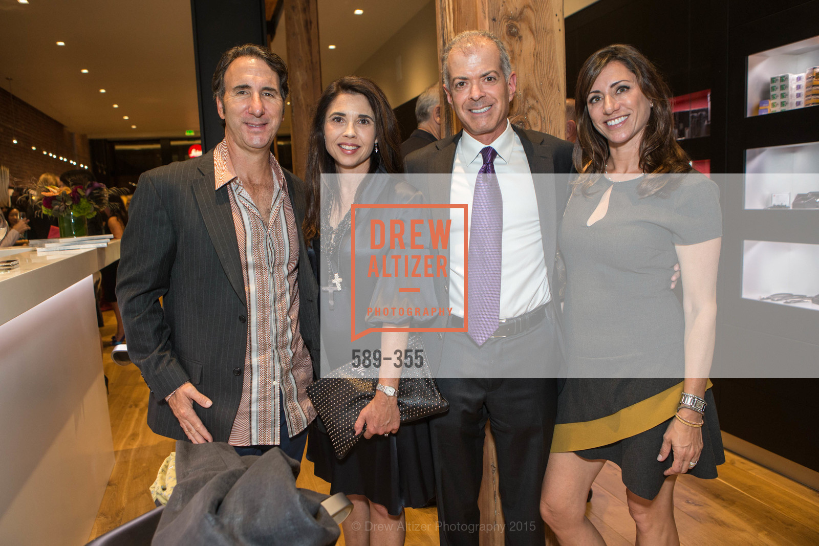 Mario Rodighiero, Candace Cavanaugh, Rob Siler, April Siler, SFMOMA Contemporary Vision Award Launch Party, Leica. 463 Bush St, October 8th, 2015,Drew Altizer, Drew Altizer Photography, full-service agency, private events, San Francisco photographer, photographer california