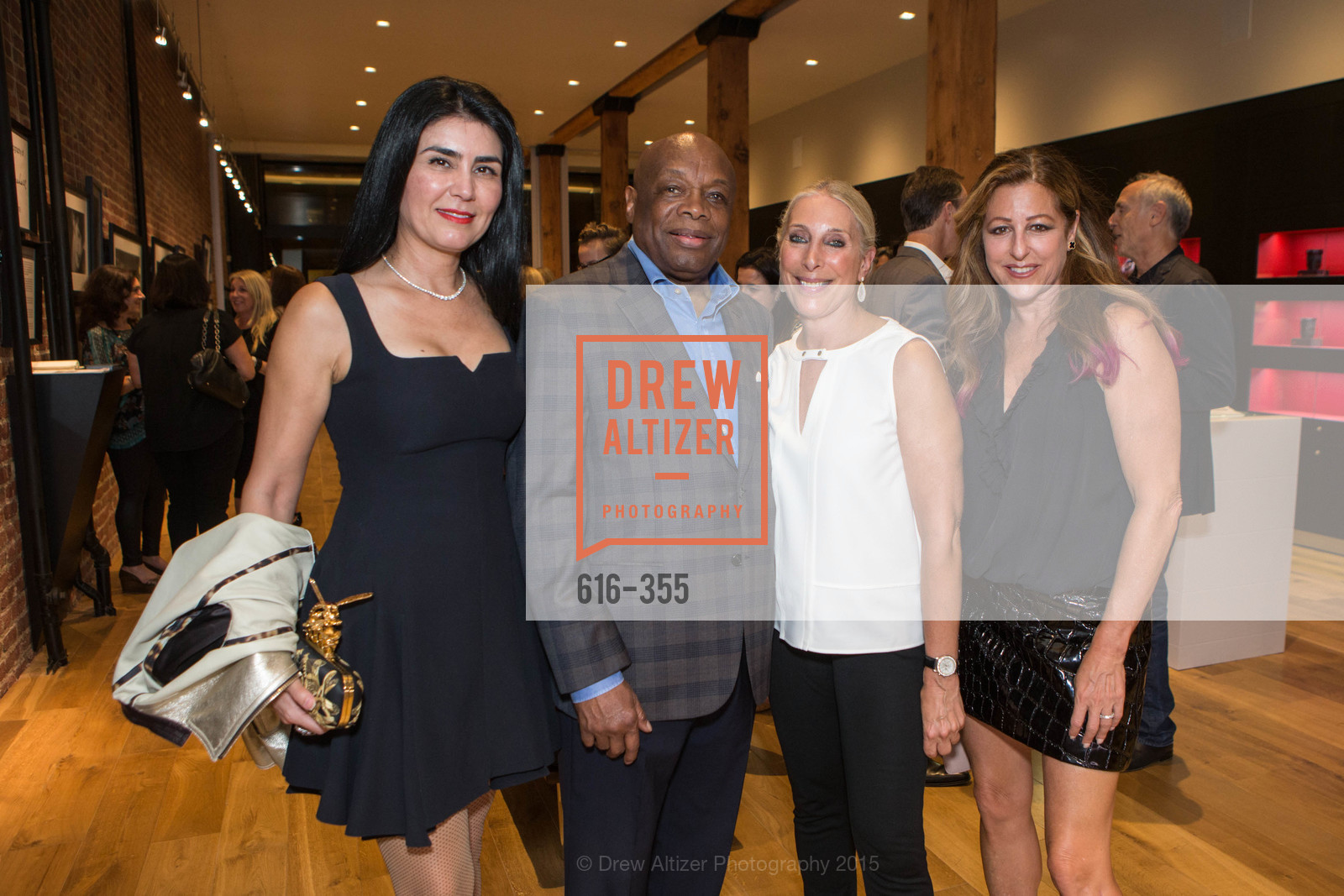 Afsaneh Akhtari, Willie Brown, Betsy Linder, Victoria Loren Miller, SFMOMA Contemporary Vision Award Launch Party, Leica. 463 Bush St, October 8th, 2015,Drew Altizer, Drew Altizer Photography, full-service agency, private events, San Francisco photographer, photographer california