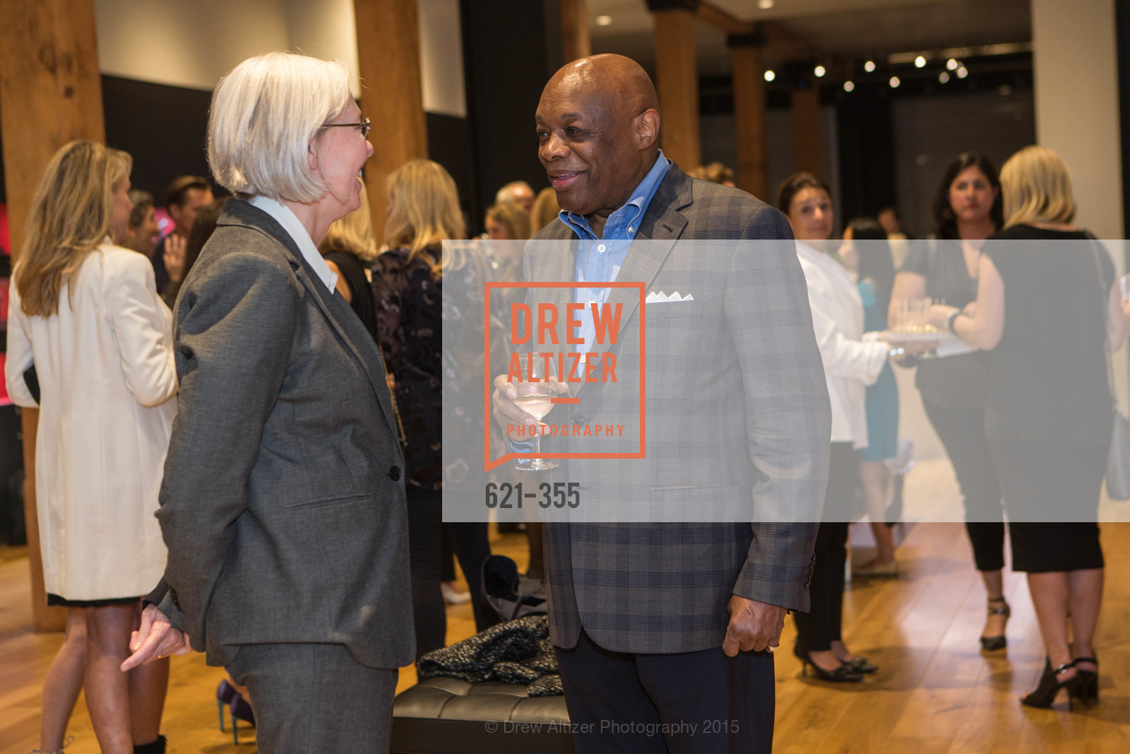 Nan Keeton, Willie Brown, SFMOMA Contemporary Vision Award Launch Party, Leica. 463 Bush St, October 8th, 2015,Drew Altizer, Drew Altizer Photography, full-service agency, private events, San Francisco photographer, photographer california
