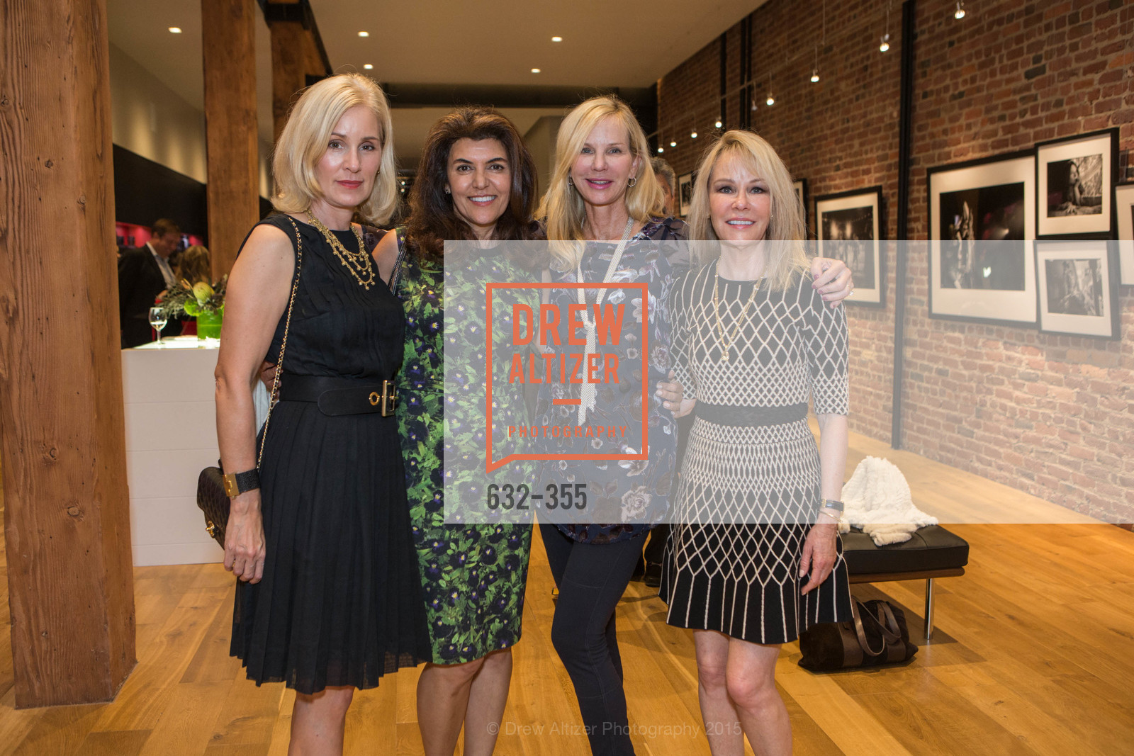 Jennifer Benham, Farnoosh Hariri, Diane Rice, Ellen Coleman, SFMOMA Contemporary Vision Award Launch Party, Leica. 463 Bush St, October 8th, 2015,Drew Altizer, Drew Altizer Photography, full-service agency, private events, San Francisco photographer, photographer california