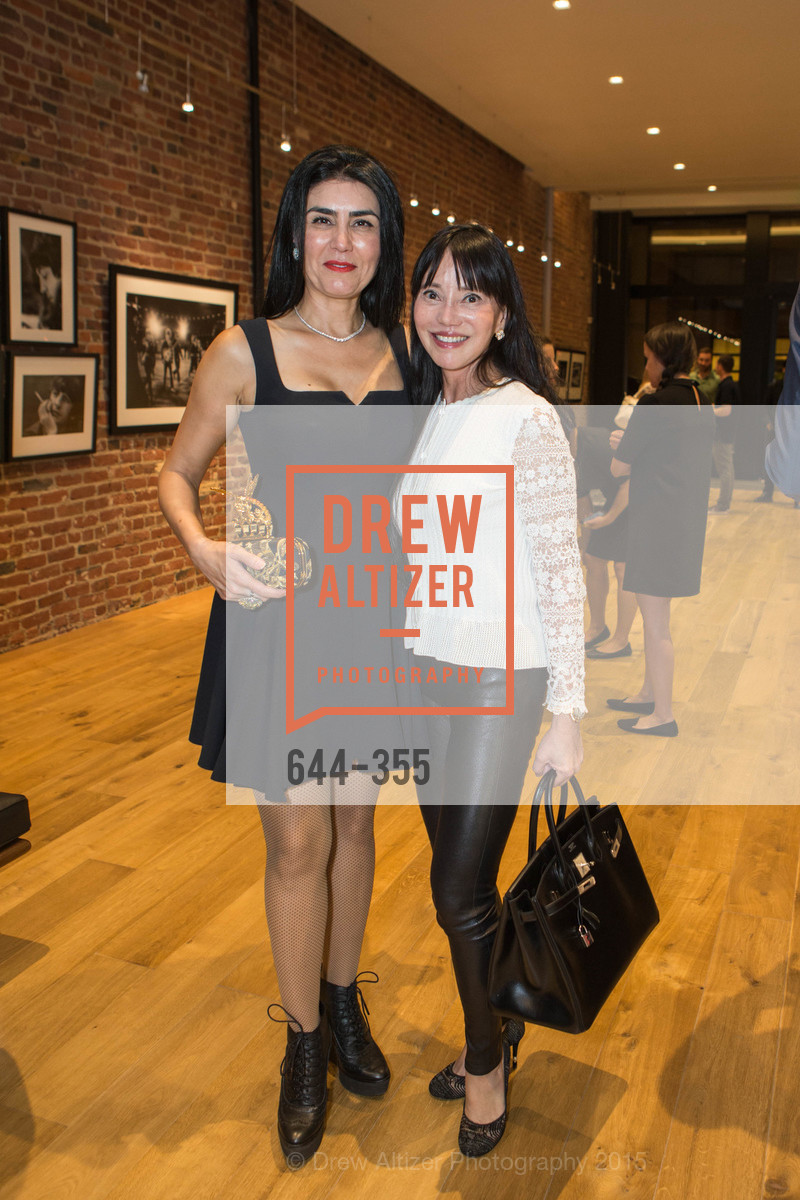 Afsaneh Akhtari, France Szeto, SFMOMA Contemporary Vision Award Launch Party, Leica. 463 Bush St, October 8th, 2015,Drew Altizer, Drew Altizer Photography, full-service agency, private events, San Francisco photographer, photographer california