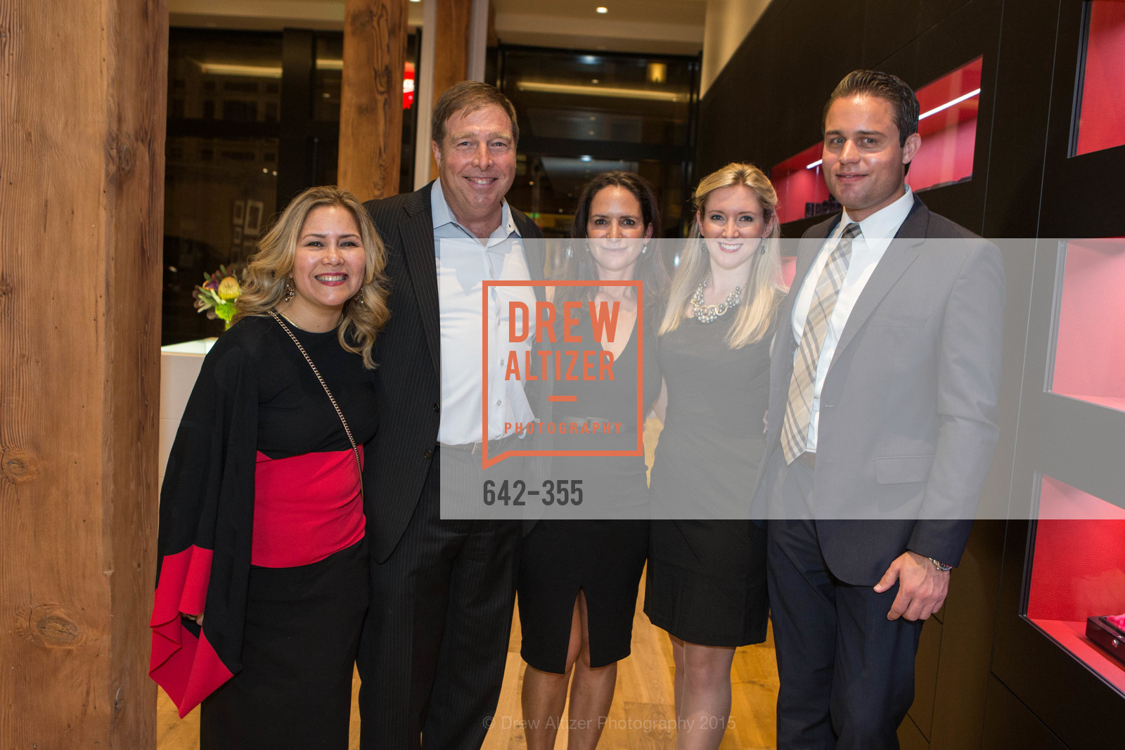 Michaela van Zwoll, Courtney Dallaire, Katie Lanier, Mark Van Zwoll, SFMOMA Contemporary Vision Award Launch Party, Leica. 463 Bush St, October 8th, 2015,Drew Altizer, Drew Altizer Photography, full-service agency, private events, San Francisco photographer, photographer california