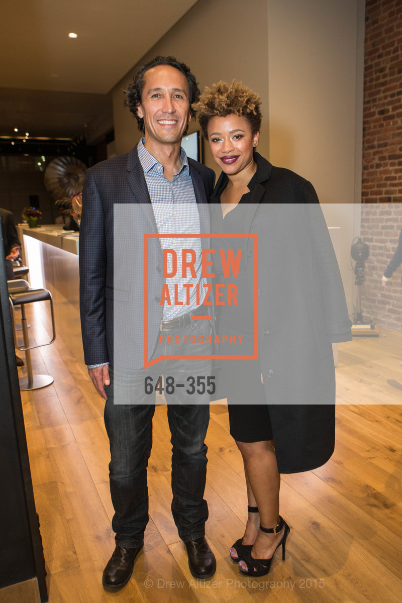 David Yu, Michelle Daniels, SFMOMA Contemporary Vision Award Launch Party, Leica. 463 Bush St, October 8th, 2015,Drew Altizer, Drew Altizer Photography, full-service agency, private events, San Francisco photographer, photographer california