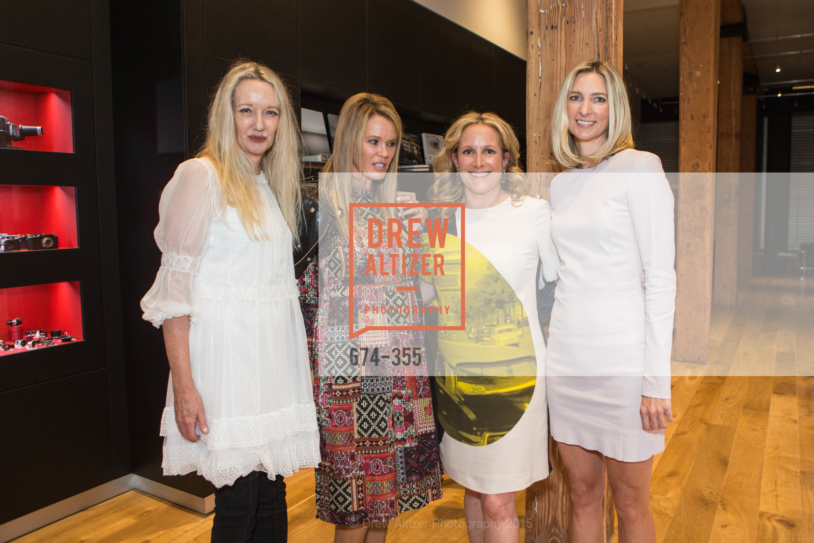 Dorothy Torresi, Stephanie Tuttle, Lorre Erlick, Meg Krebiel, SFMOMA Contemporary Vision Award Launch Party, Leica. 463 Bush St, October 8th, 2015,Drew Altizer, Drew Altizer Photography, full-service event agency, private events, San Francisco photographer, photographer California