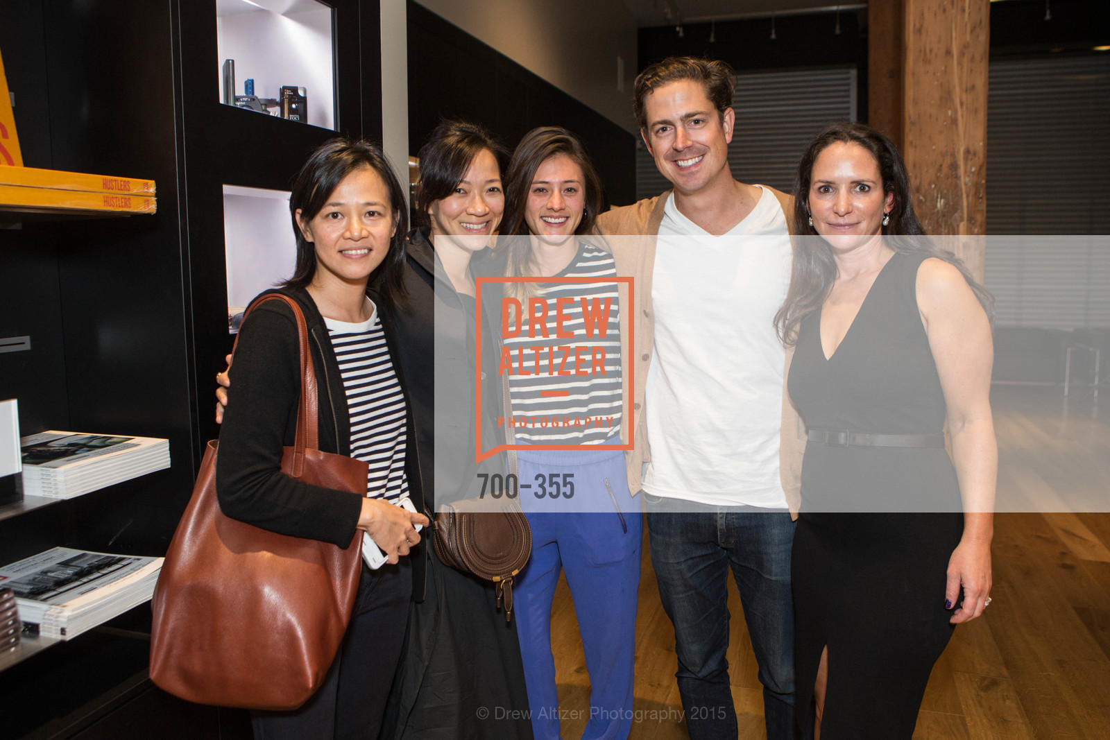 Dyen Ngo, Christina Woo, Marika Clark, Graham Veysey, Courtney Dallaire, SFMOMA Contemporary Vision Award Launch Party, Leica. 463 Bush St, October 8th, 2015,Drew Altizer, Drew Altizer Photography, full-service agency, private events, San Francisco photographer, photographer california