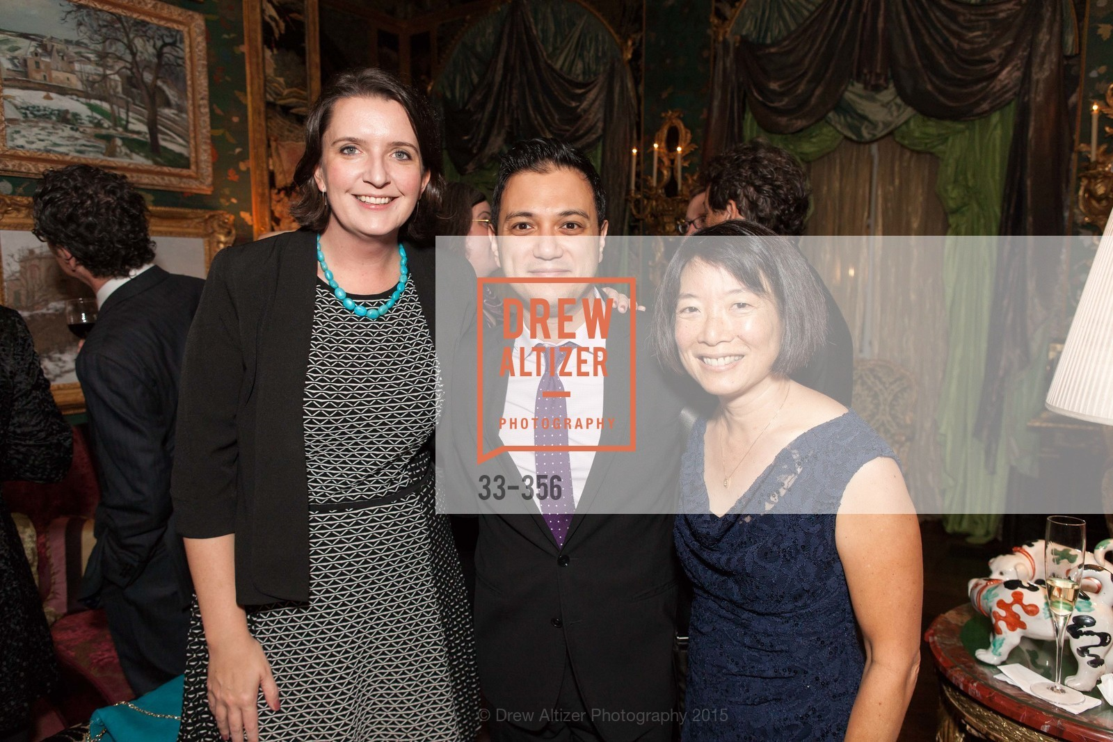 Kate Sheeran, Nicholan Phan, Stephanie Lee, Getty Hosts the New Century Chamber Orchestra, Private Residence, October 8th, 2015,Drew Altizer, Drew Altizer Photography, full-service agency, private events, San Francisco photographer, photographer california