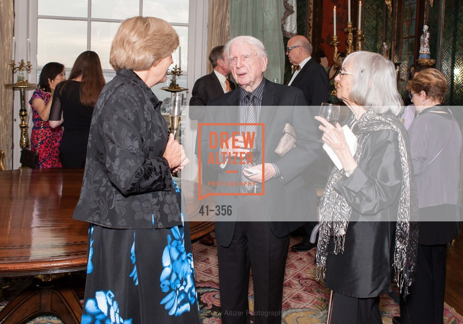 Carolyn Spitz, Stewart Canin, Virginia Canin, Getty Hosts the New Century Chamber Orchestra, Private Residence, October 8th, 2015,Drew Altizer, Drew Altizer Photography, full-service event agency, private events, San Francisco photographer, photographer California