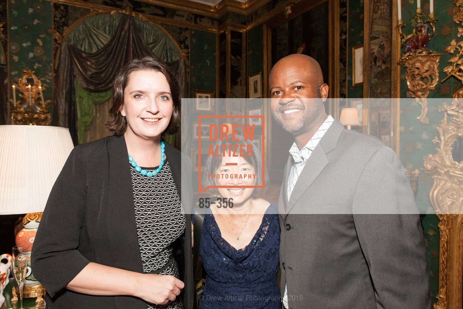 Kate Sheeran, Stephanie Lee, Vincent Rowe, Getty Hosts the New Century Chamber Orchestra, Private Residence, October 8th, 2015,Drew Altizer, Drew Altizer Photography, full-service agency, private events, San Francisco photographer, photographer california