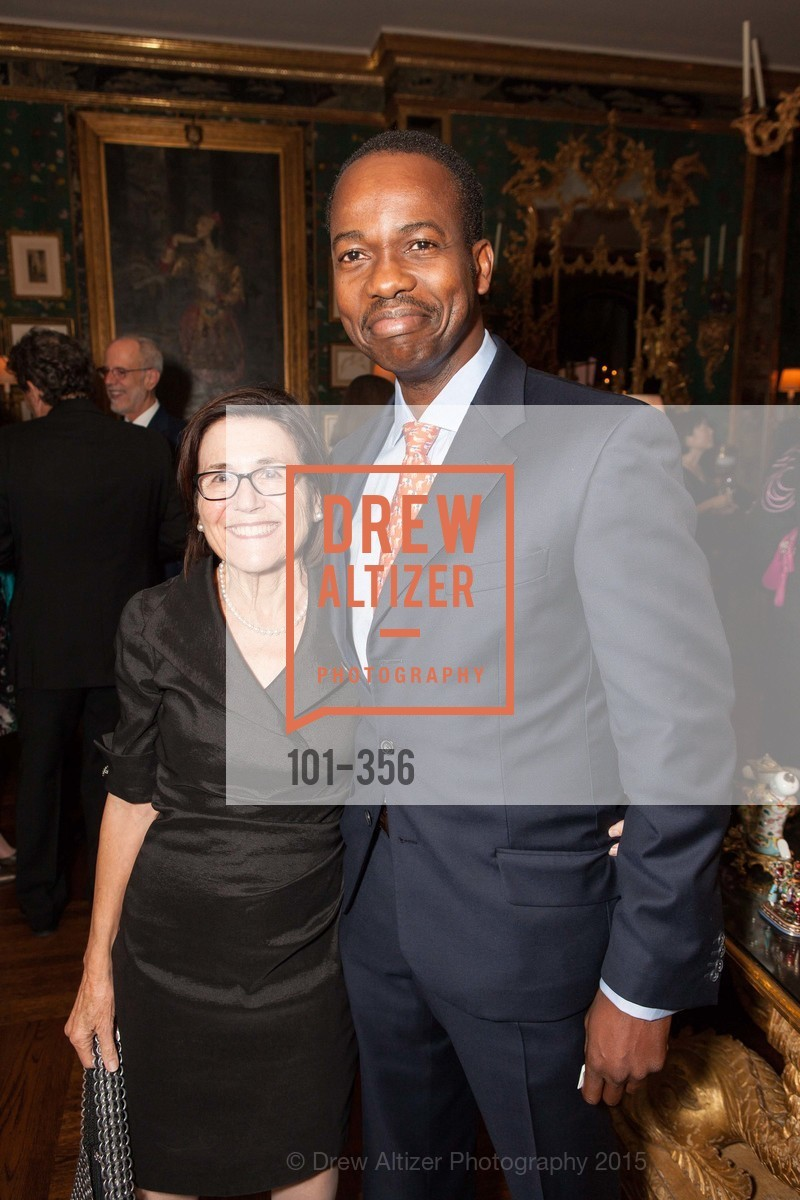 Gerri Caldarola, Deji Abidogum, Getty Hosts the New Century Chamber Orchestra, Private Residence, October 8th, 2015,Drew Altizer, Drew Altizer Photography, full-service agency, private events, San Francisco photographer, photographer california