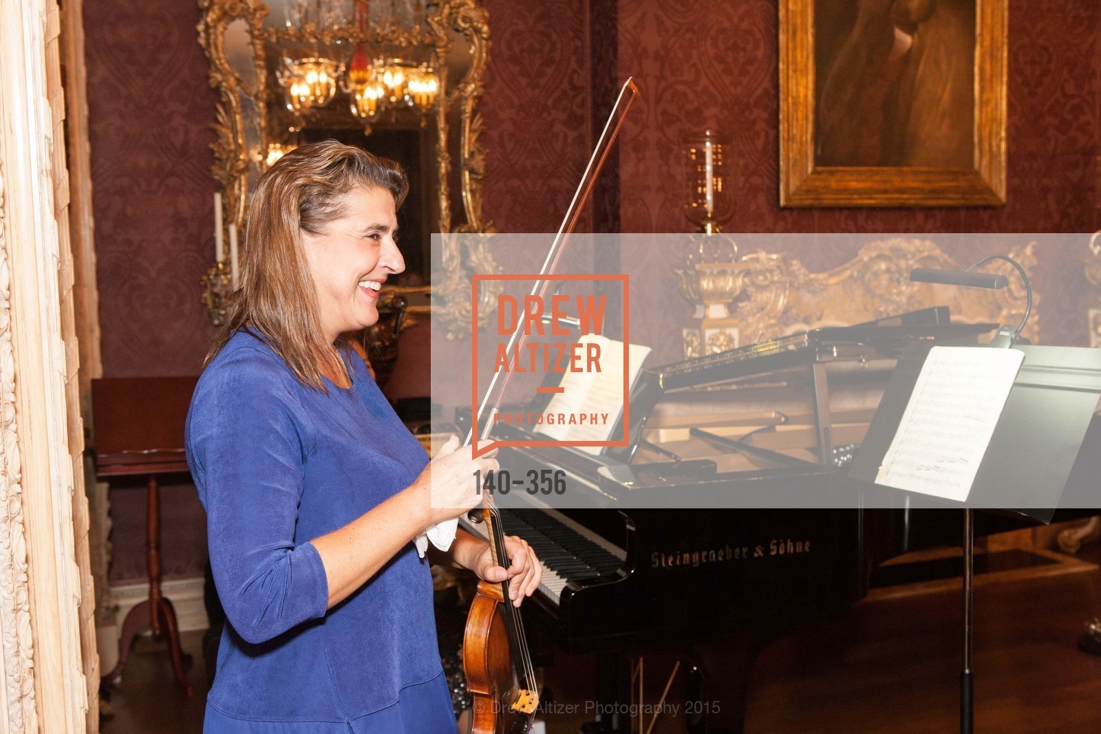 Nadja Salerno-Sonnenberg, Getty Hosts the New Century Chamber Orchestra, Private Residence, October 8th, 2015,Drew Altizer, Drew Altizer Photography, full-service agency, private events, San Francisco photographer, photographer california