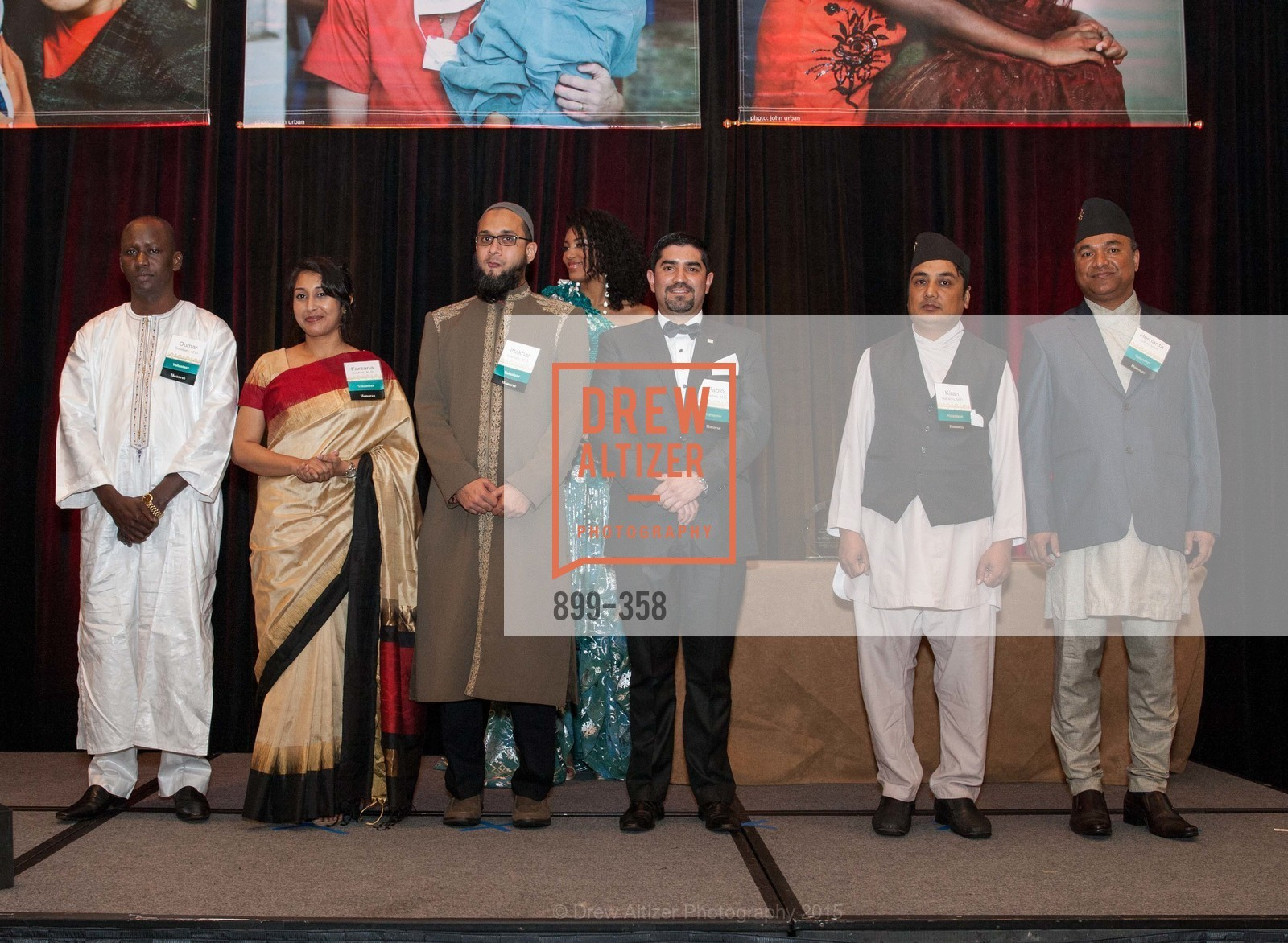 Oumar Coulibaly, Farzana Ibrahim, Iftekar Mannan, Pablo Salamea, Kiran Nakarmi, Hemanta Dhoj Joshi, ReSurge International Gala, Four Seasons San Francisco, October 10th, 2015,Drew Altizer, Drew Altizer Photography, full-service agency, private events, San Francisco photographer, photographer california