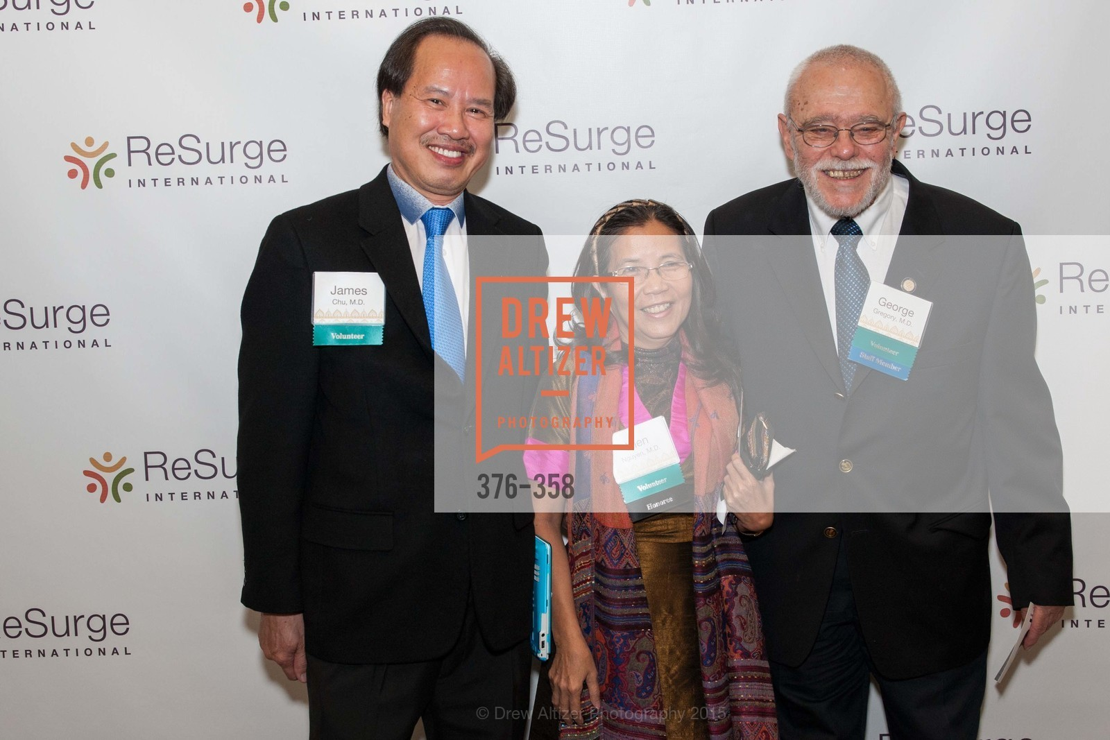 James Chu, Hien Nguyen, George Gregory, ReSurge International Gala, Four Seasons San Francisco, October 10th, 2015,Drew Altizer, Drew Altizer Photography, full-service agency, private events, San Francisco photographer, photographer california