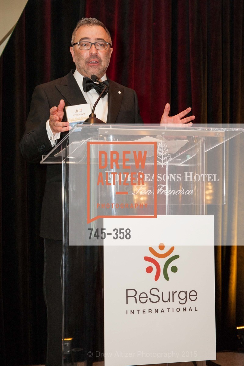 Jeff Whisenant, ReSurge International Gala, Four Seasons San Francisco, October 10th, 2015,Drew Altizer, Drew Altizer Photography, full-service agency, private events, San Francisco photographer, photographer california