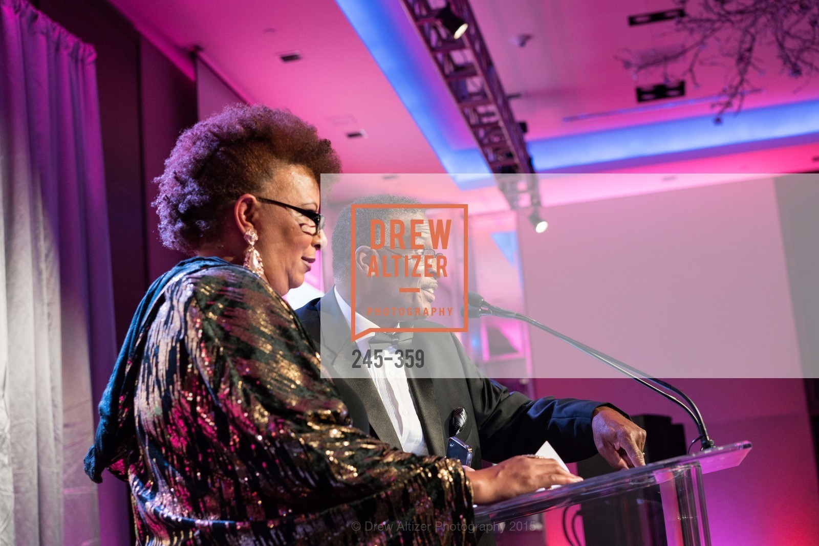 J. Rosalynn Smith-Clark, Dave Clark, 2015 MoAD Gala: Finding the I in Diaspora, MoAD Museum & The St. Regis, October 10th, 2015,Drew Altizer, Drew Altizer Photography, full-service agency, private events, San Francisco photographer, photographer california