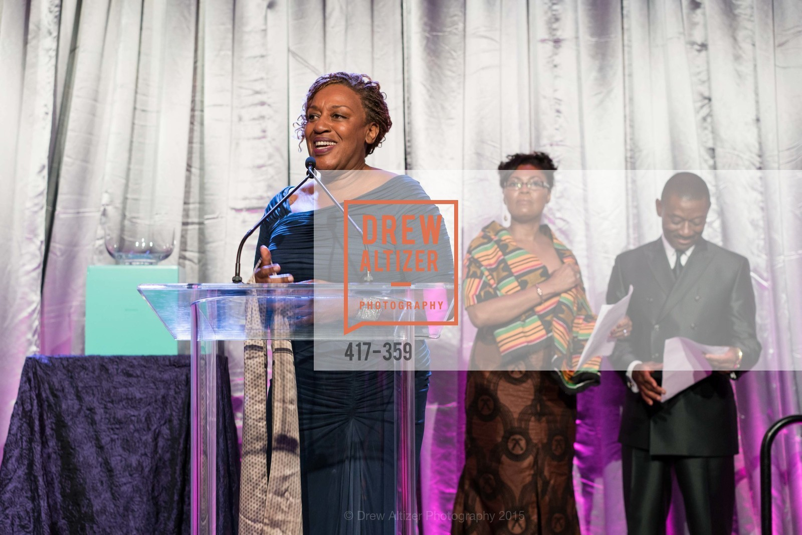 CCH Pounder, Gladys Moore, Kofi Bonner, 2015 MoAD Gala: Finding the I in Diaspora, MoAD Museum & The St. Regis, October 10th, 2015