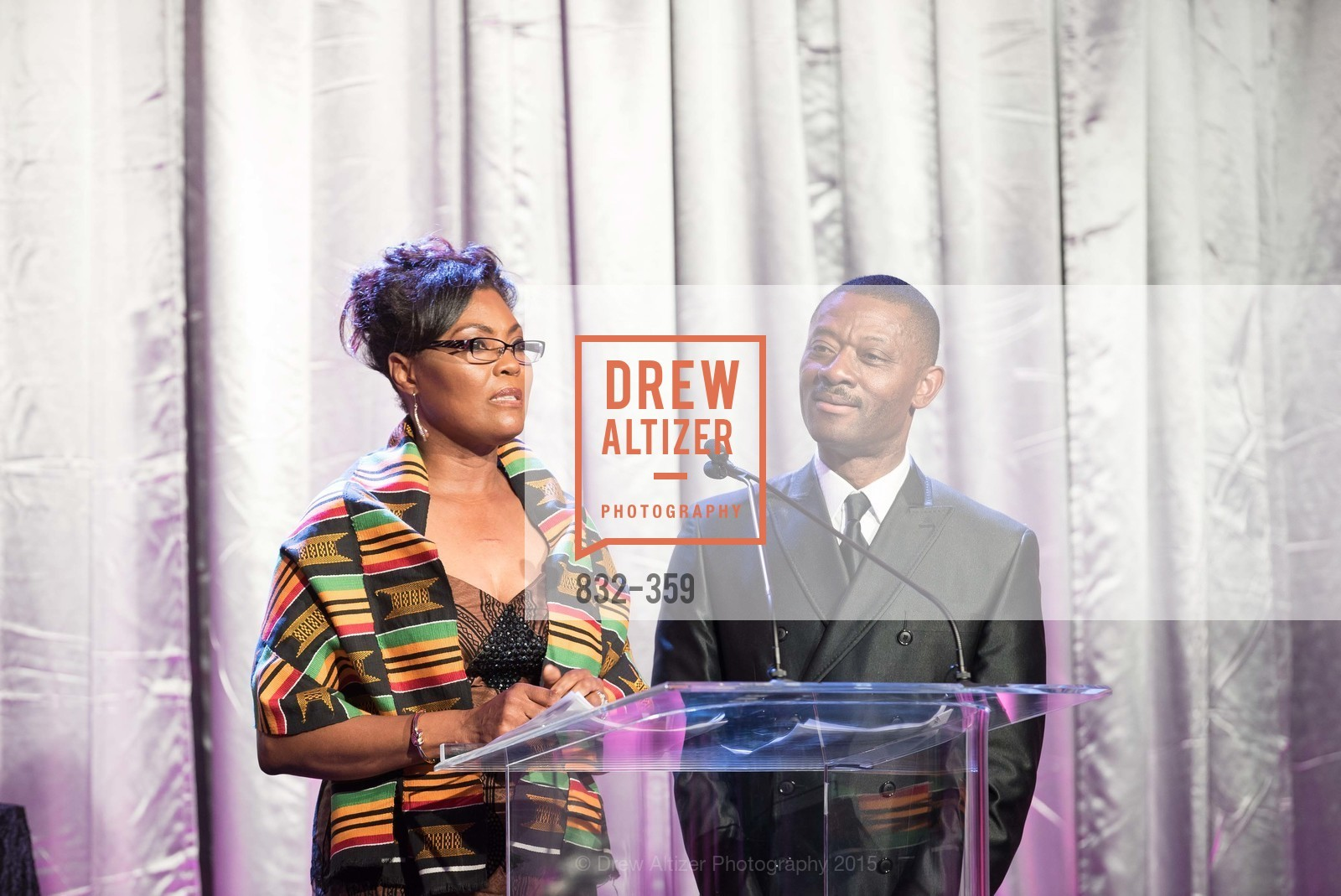 Gladys Moore, Kofi Bonner, 2015 MoAD Gala: Finding the I in Diaspora, MoAD Museum & The St. Regis, October 10th, 2015,Drew Altizer, Drew Altizer Photography, full-service event agency, private events, San Francisco photographer, photographer California