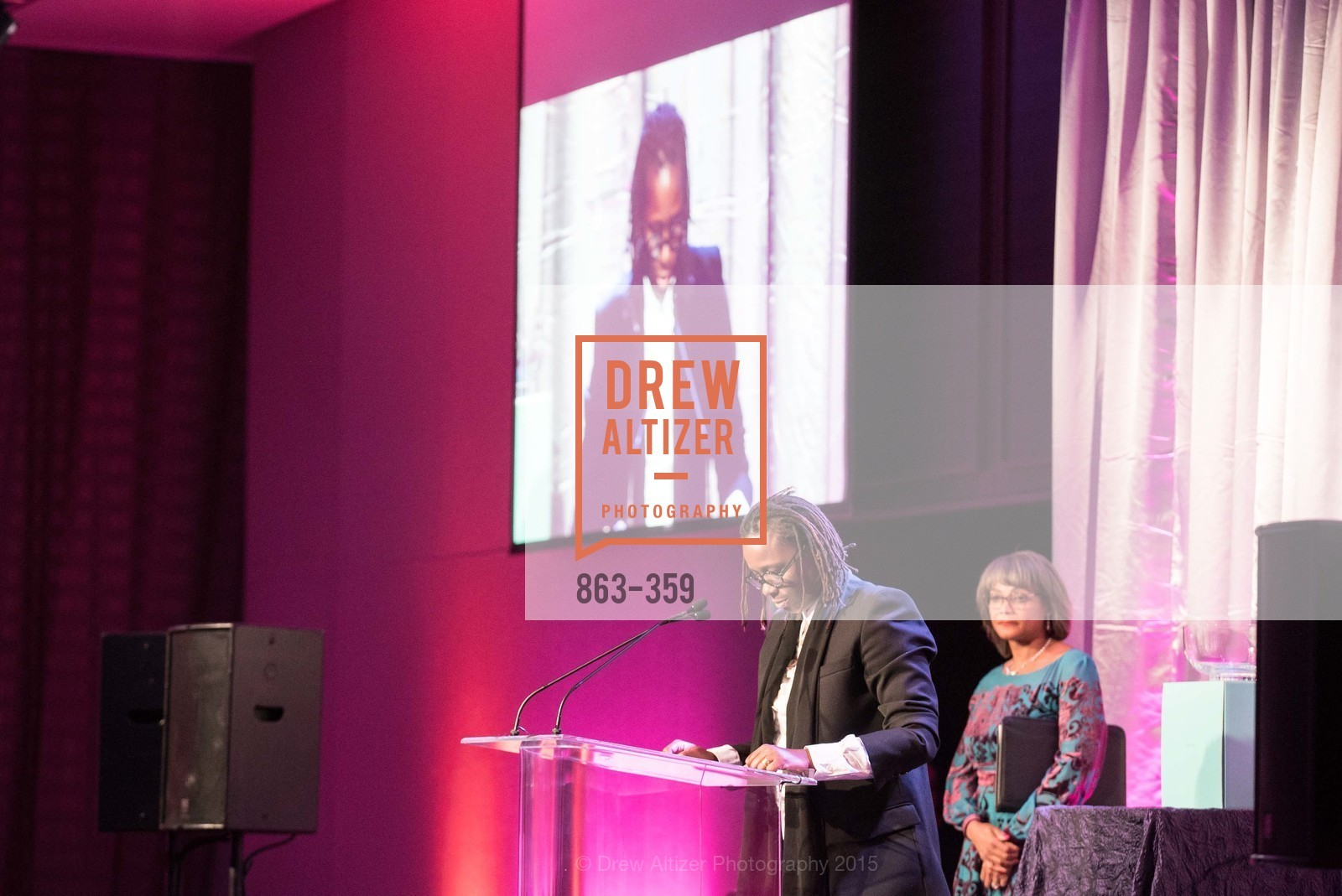 Mickalene Thomas, Karen Jenkins Johnson, 2015 MoAD Gala: Finding the I in Diaspora, MoAD Museum & The St. Regis, October 10th, 2015,Drew Altizer, Drew Altizer Photography, full-service agency, private events, San Francisco photographer, photographer california