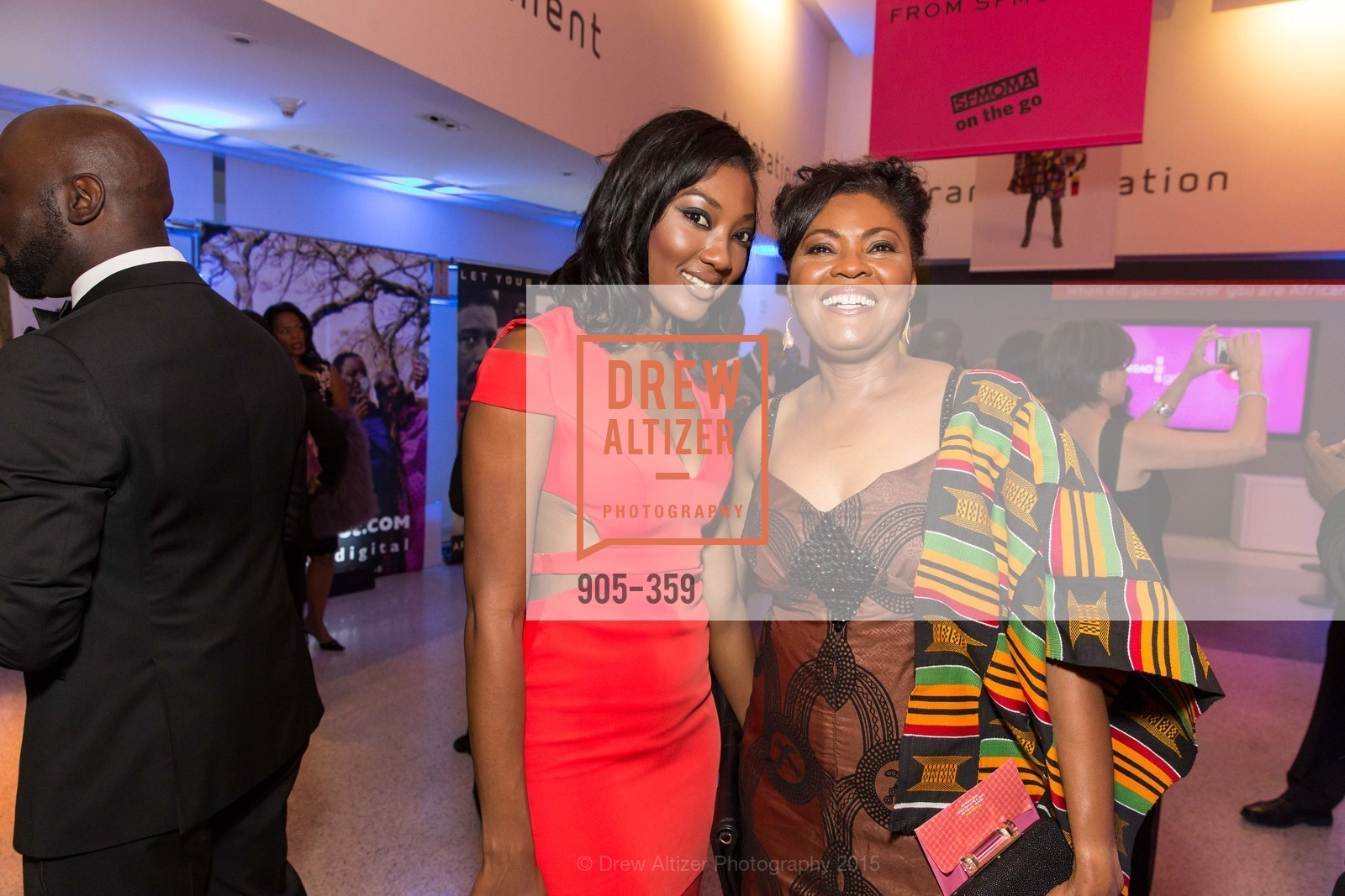 Noelle Bonner, Gladys Moore, 2015 MoAD Gala: Finding the I in Diaspora, MoAD Museum & The St. Regis, October 10th, 2015,Drew Altizer, Drew Altizer Photography, full-service agency, private events, San Francisco photographer, photographer california
