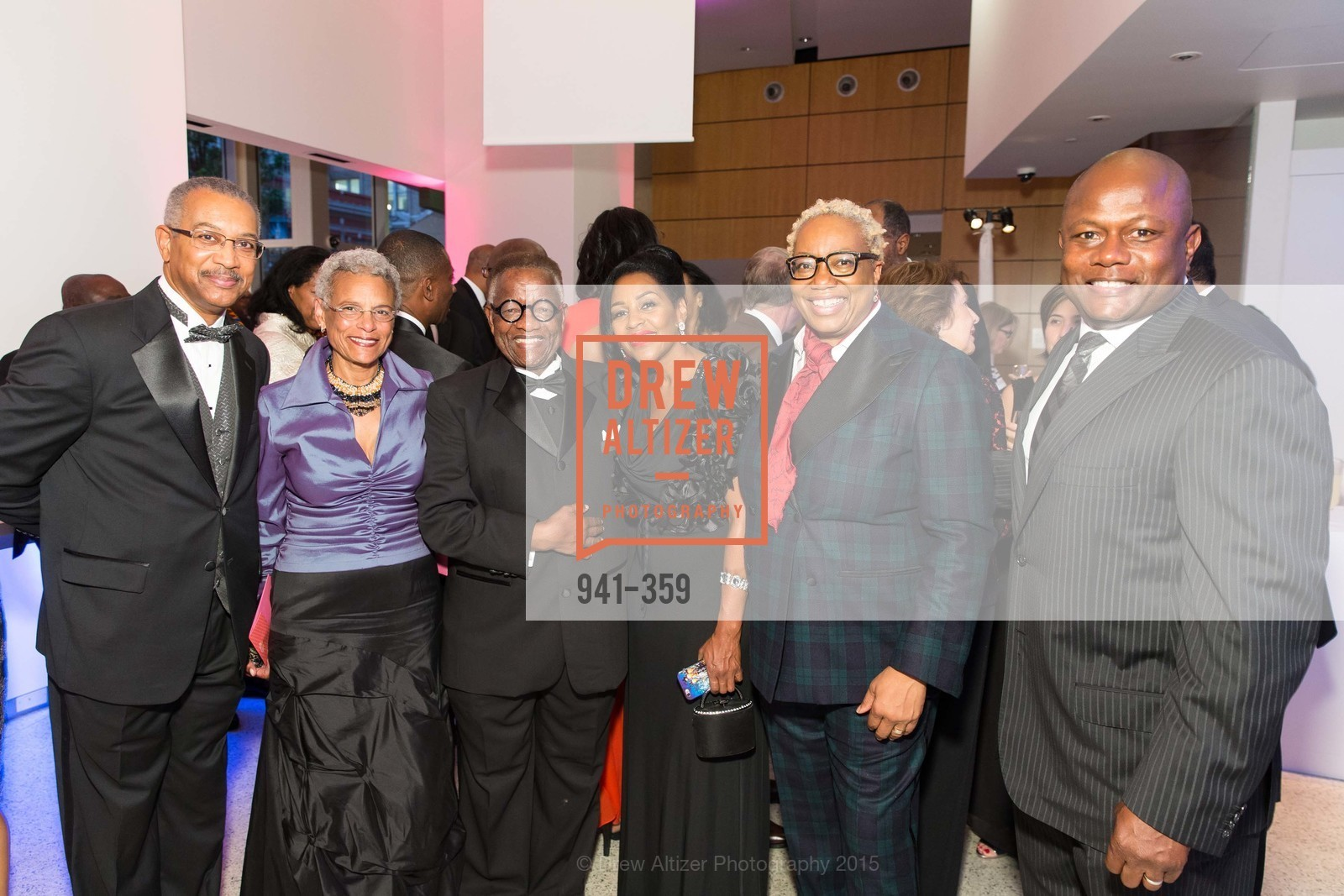 WIll Hobbs, Carolyn Hobbs, Toye Moses, Collette Luckie, Linda Harrison, Michael DeFlorimonte, 2015 MoAD Gala: Finding the I in Diaspora, MoAD Museum & The St. Regis, October 10th, 2015,Drew Altizer, Drew Altizer Photography, full-service agency, private events, San Francisco photographer, photographer california