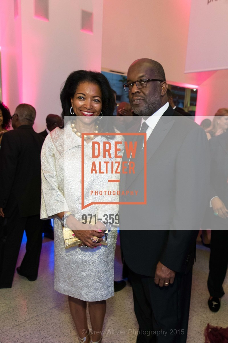 Denise Bradley Tyson, Bernard Tyson, 2015 MoAD Gala: Finding the I in Diaspora, MoAD Museum & The St. Regis, October 10th, 2015,Drew Altizer, Drew Altizer Photography, full-service agency, private events, San Francisco photographer, photographer california