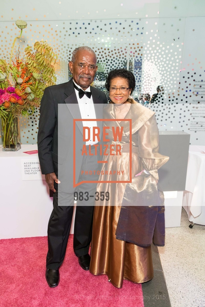Bill Moore, Belva Davis, 2015 MoAD Gala: Finding the I in Diaspora, MoAD Museum & The St. Regis, October 10th, 2015,Drew Altizer, Drew Altizer Photography, full-service agency, private events, San Francisco photographer, photographer california