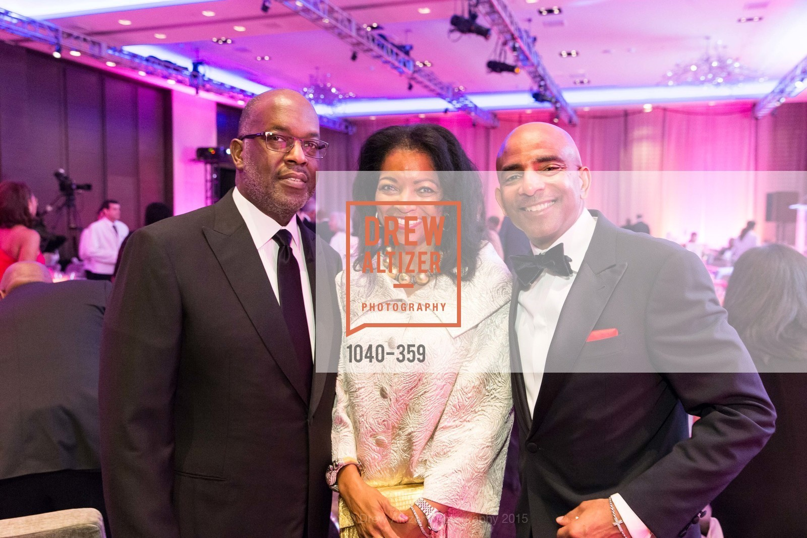 Bernard Tyson, Denise Bradley Tyson, Steve Bowdry, 2015 MoAD Gala: Finding the I in Diaspora, MoAD Museum & The St. Regis, October 10th, 2015,Drew Altizer, Drew Altizer Photography, full-service agency, private events, San Francisco photographer, photographer california