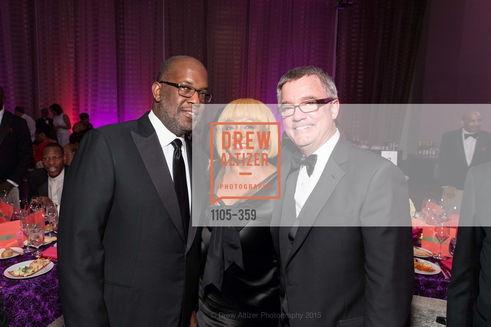 Bernanrd Tyson, Brenda Wright, Wade Rose, 2015 MoAD Gala: Finding the I in Diaspora, MoAD Museum & The St. Regis, October 10th, 2015,Drew Altizer, Drew Altizer Photography, full-service agency, private events, San Francisco photographer, photographer california