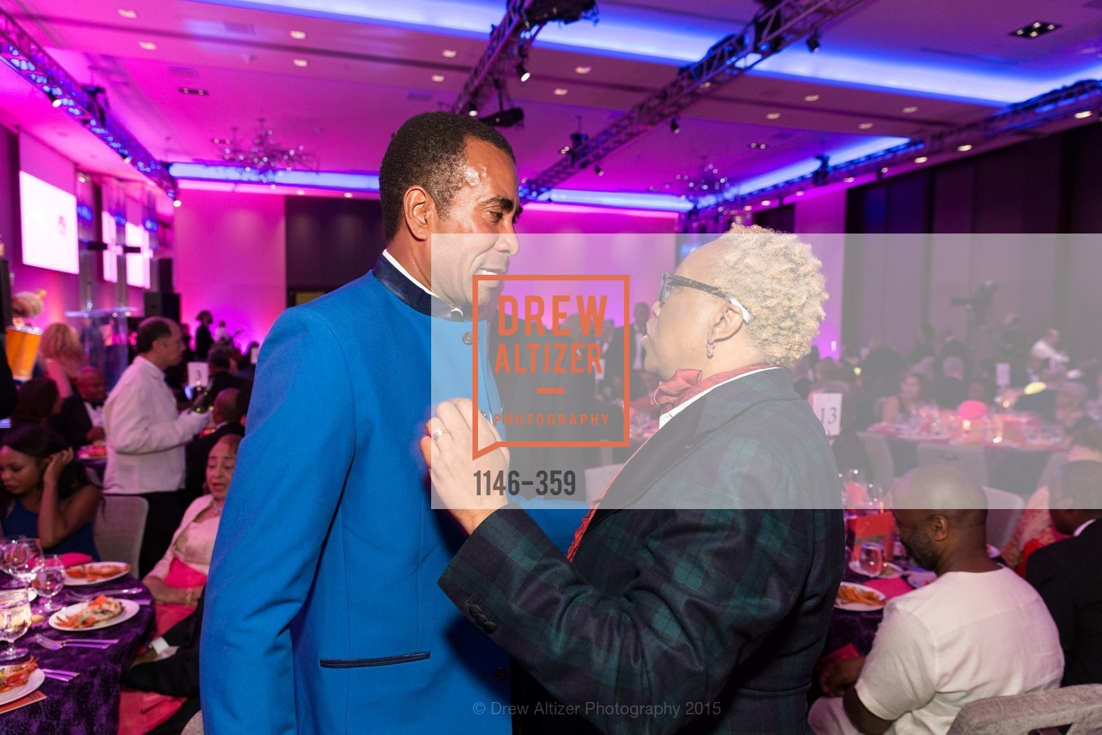 Lowell Gibbs, Linda Harrison, 2015 MoAD Gala: Finding the I in Diaspora, MoAD Museum & The St. Regis, October 10th, 2015,Drew Altizer, Drew Altizer Photography, full-service agency, private events, San Francisco photographer, photographer california