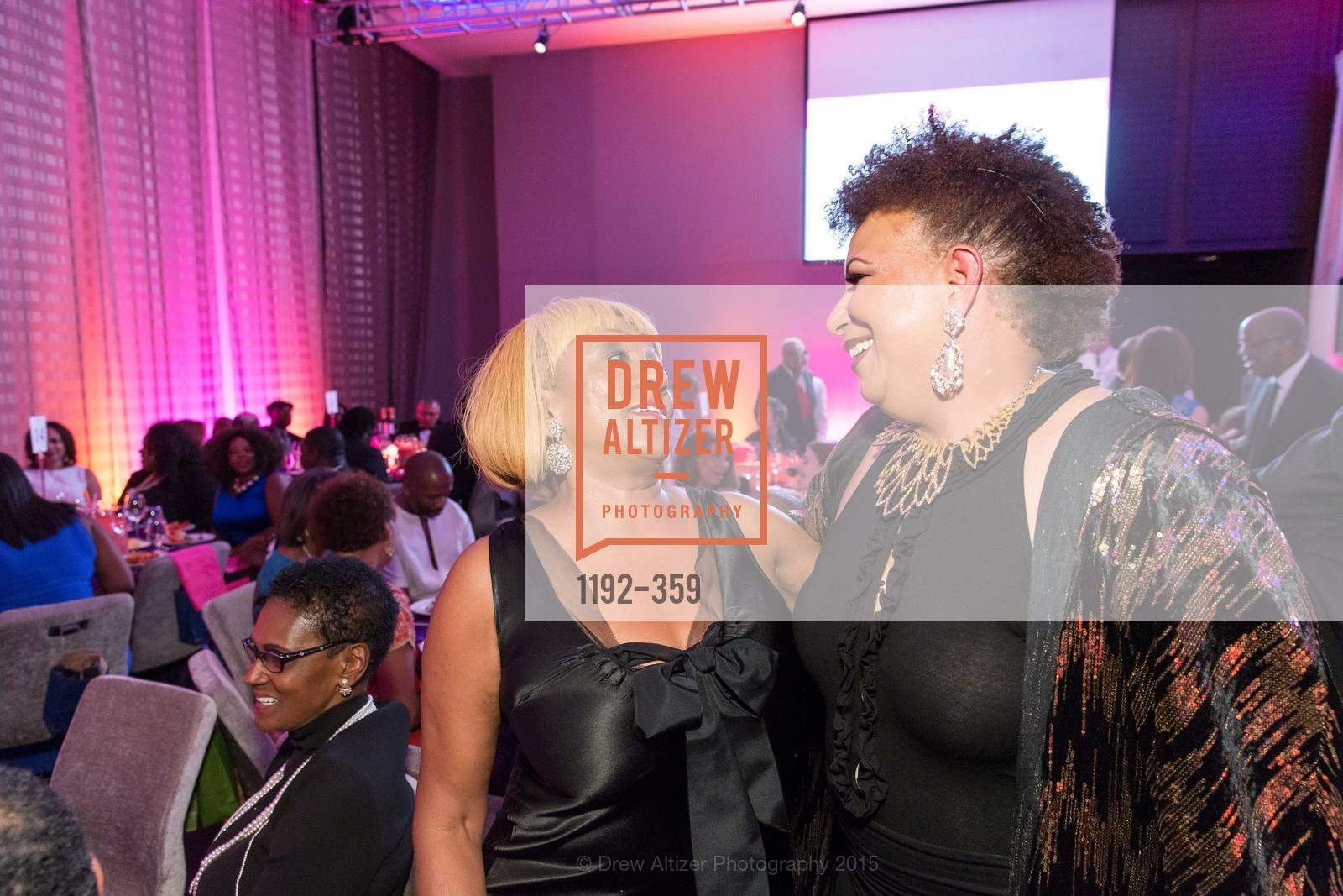 Brenda Wright, J. Rossalyn SMith-Clark, 2015 MoAD Gala: Finding the I in Diaspora, MoAD Museum & The St. Regis, October 10th, 2015,Drew Altizer, Drew Altizer Photography, full-service agency, private events, San Francisco photographer, photographer california