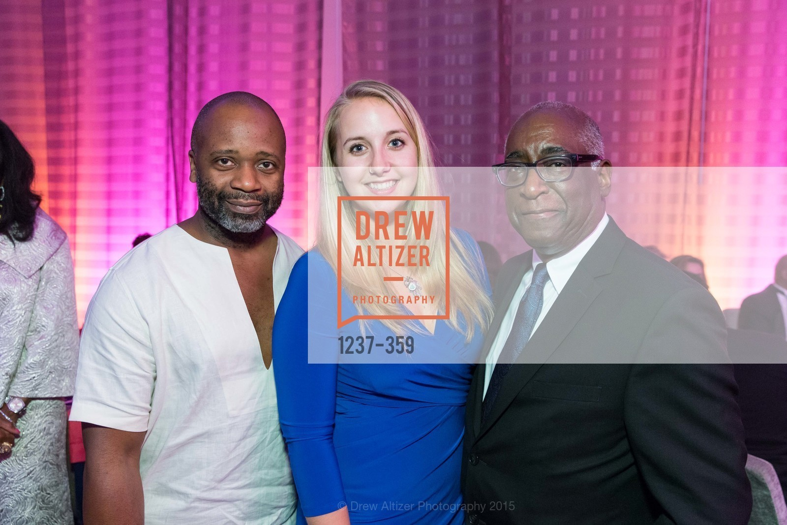 Theaster Gates, Emily Kuhlmann, Michael Warr, 2015 MoAD Gala: Finding the I in Diaspora, MoAD Museum & The St. Regis, October 10th, 2015,Drew Altizer, Drew Altizer Photography, full-service agency, private events, San Francisco photographer, photographer california