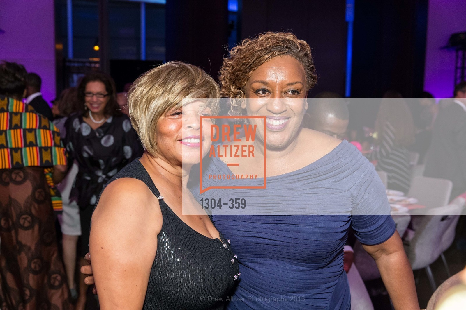 Bernice Tingle King, CCH Pounder, 2015 MoAD Gala: Finding the I in Diaspora, MoAD Museum & The St. Regis, October 10th, 2015,Drew Altizer, Drew Altizer Photography, full-service agency, private events, San Francisco photographer, photographer california