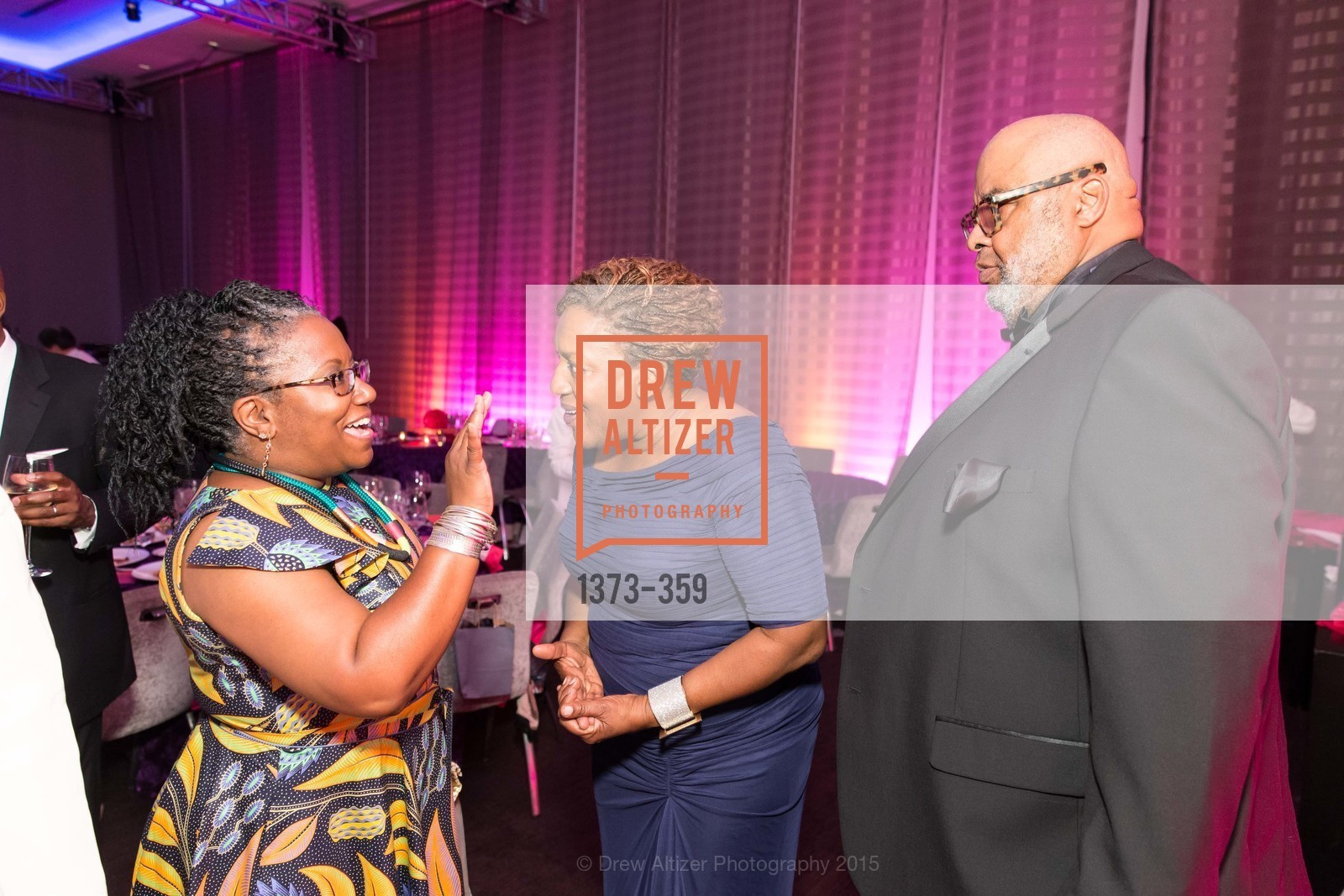 Shiree Dyson, CCH Pounder, Gregory Edwards, 2015 MoAD Gala: Finding the I in Diaspora, MoAD Museum & The St. Regis, October 10th, 2015,Drew Altizer, Drew Altizer Photography, full-service agency, private events, San Francisco photographer, photographer california