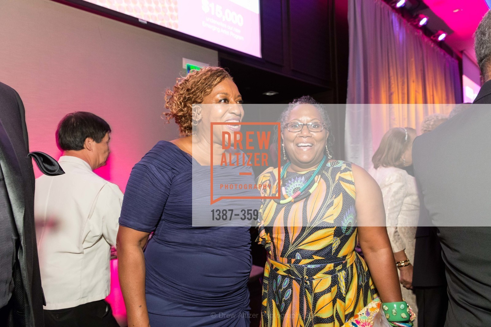 CCH Pounder, Shiree Dyson, 2015 MoAD Gala: Finding the I in Diaspora, MoAD Museum & The St. Regis, October 10th, 2015,Drew Altizer, Drew Altizer Photography, full-service agency, private events, San Francisco photographer, photographer california