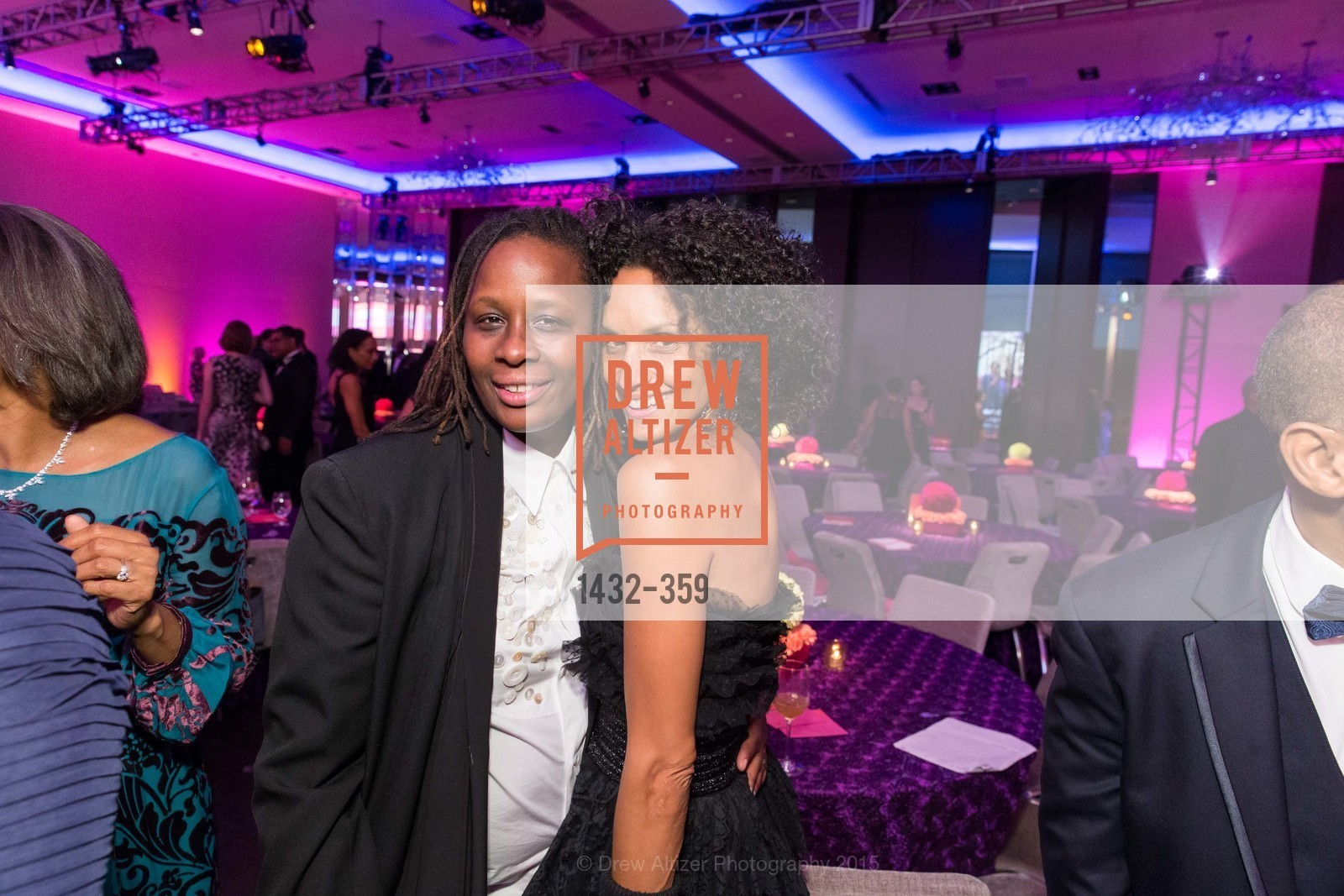 Mickalene Thomas, Raquel Chevremont, 2015 MoAD Gala: Finding the I in Diaspora, MoAD Museum & The St. Regis, October 10th, 2015,Drew Altizer, Drew Altizer Photography, full-service agency, private events, San Francisco photographer, photographer california