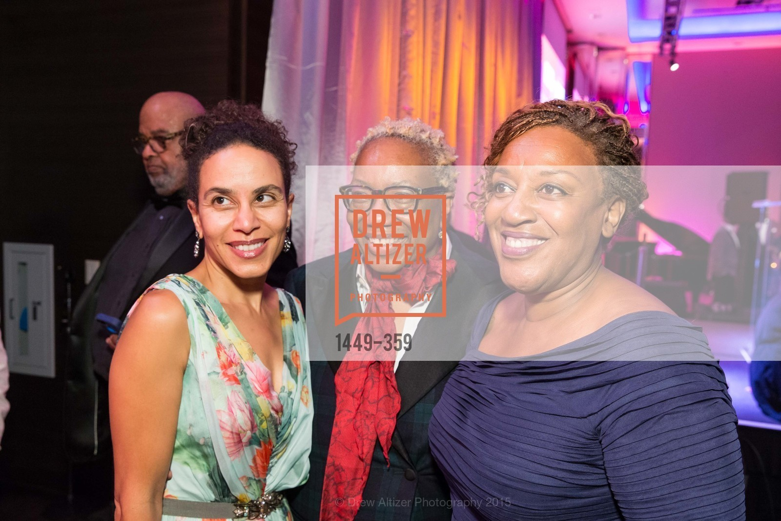 Sarah Manyika, Linda Harrison, CCH Pounder, 2015 MoAD Gala: Finding the I in Diaspora, MoAD Museum & The St. Regis, October 10th, 2015,Drew Altizer, Drew Altizer Photography, full-service agency, private events, San Francisco photographer, photographer california