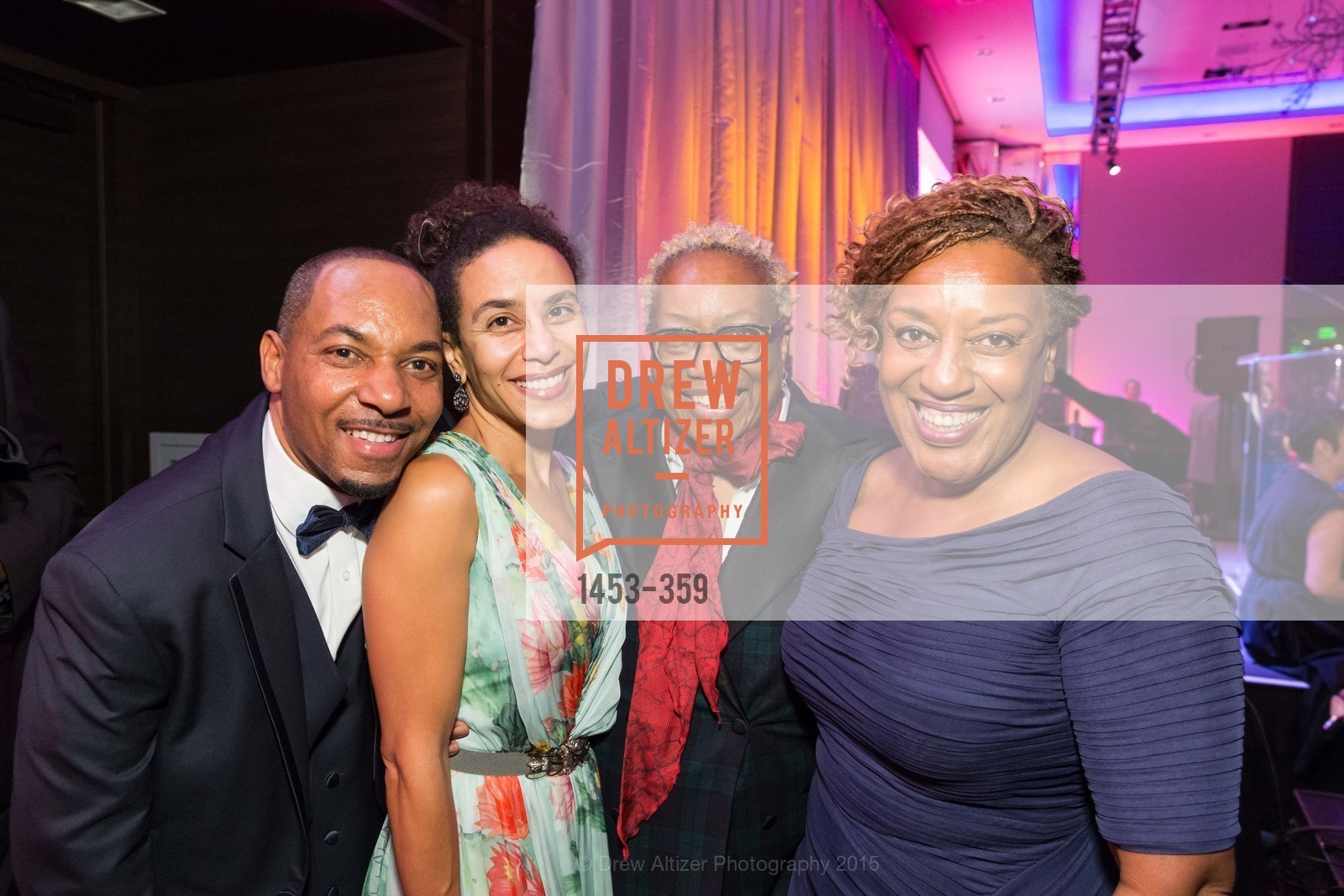 Melvin Marshall, Sarah Manyika, Linda Harrison, CCH Pounder, 2015 MoAD Gala: Finding the I in Diaspora, MoAD Museum & The St. Regis, October 10th, 2015,Drew Altizer, Drew Altizer Photography, full-service agency, private events, San Francisco photographer, photographer california