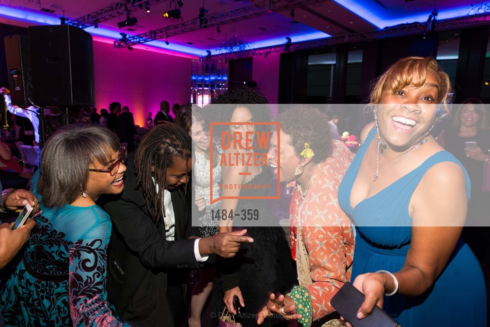 Karen Jenkins Johnson, Mickalene Thomas, Raquel Chevremont, Carrie Weems, Nashormeh Lindo, 2015 MoAD Gala: Finding the I in Diaspora, MoAD Museum & The St. Regis, October 10th, 2015,Drew Altizer, Drew Altizer Photography, full-service agency, private events, San Francisco photographer, photographer california