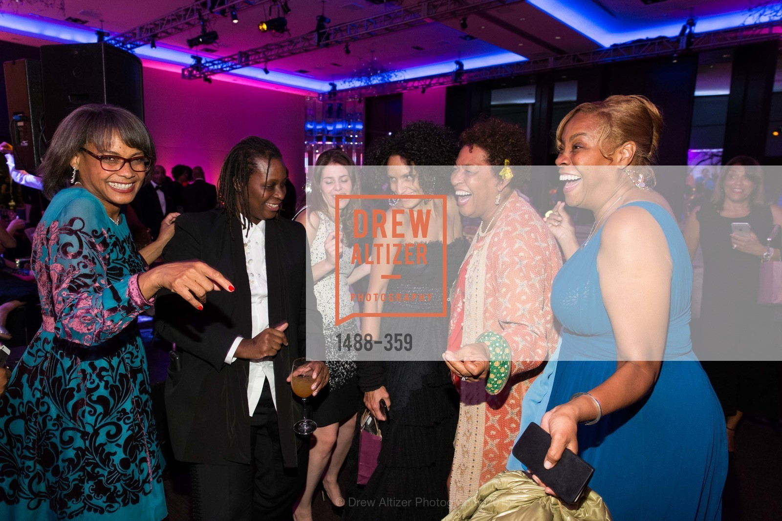 Karen Jenkins Johnson, Mickalene Thomas, Raquel Chevremont, Carrie Weems, Nashormeh Lindo, 2015 MoAD Gala: Finding the I in Diaspora, MoAD Museum & The St. Regis, October 10th, 2015,Drew Altizer, Drew Altizer Photography, full-service event agency, private events, San Francisco photographer, photographer California