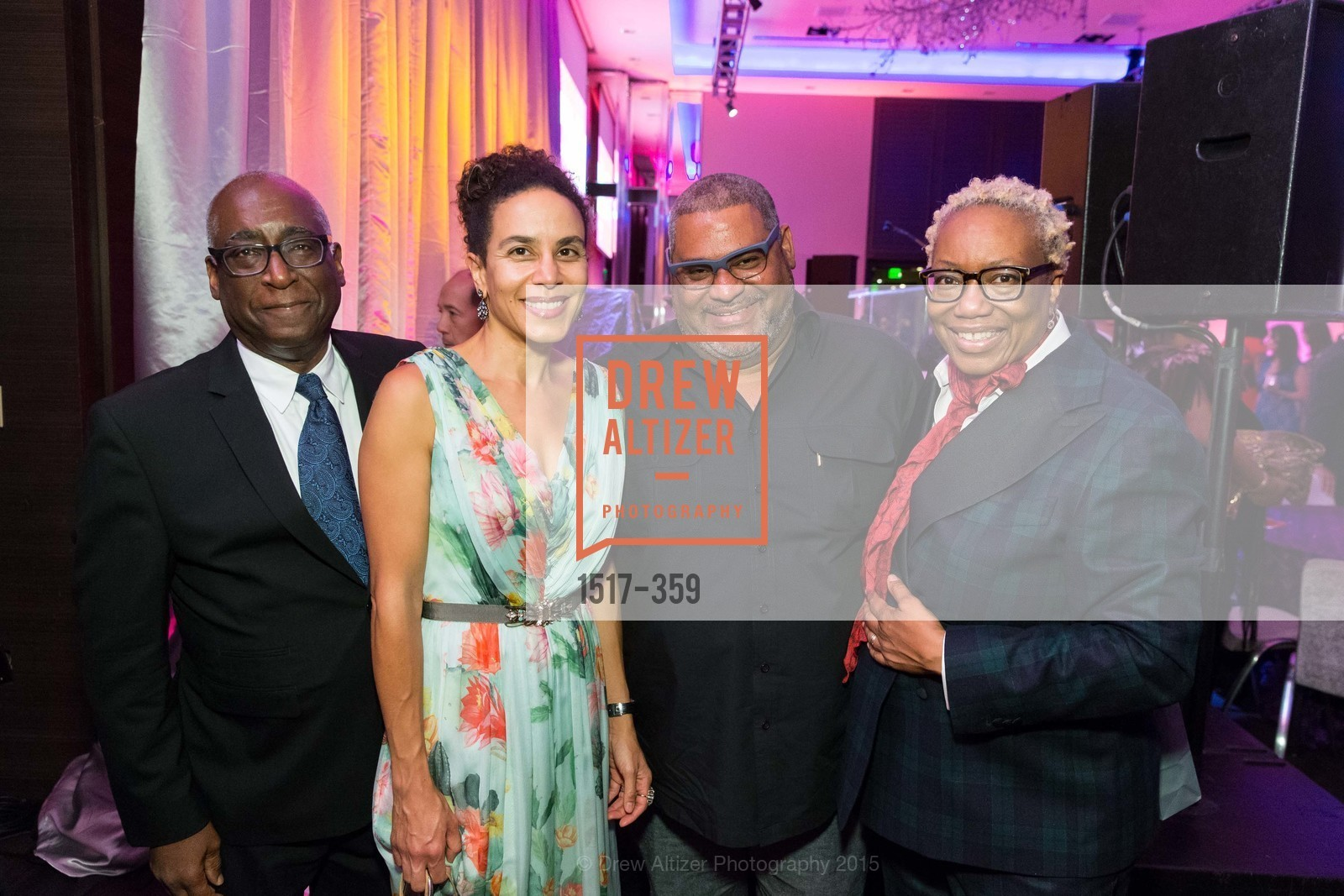 Michael Warr, Sarah Manyika, Linda Harrison, 2015 MoAD Gala: Finding the I in Diaspora, MoAD Museum & The St. Regis, October 10th, 2015,Drew Altizer, Drew Altizer Photography, full-service event agency, private events, San Francisco photographer, photographer California