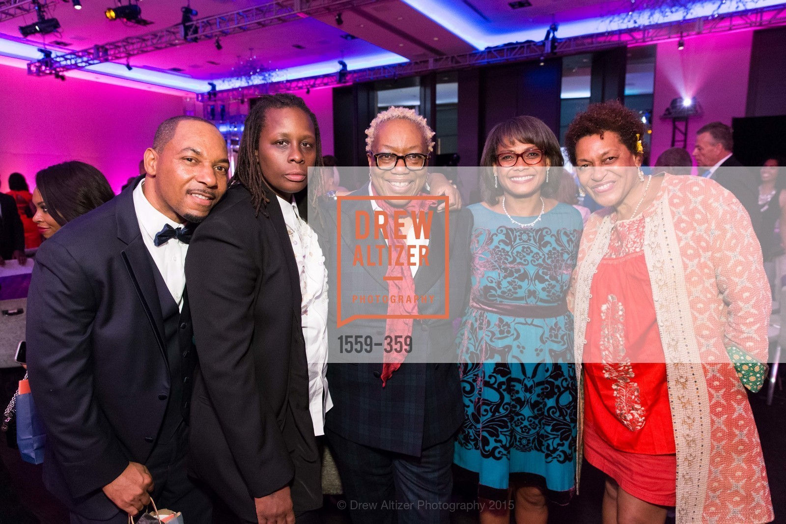 Melvin Marshall, Mickalene Thomas, Linda Harrison, Karen Jenkins Johnson, Carrie Weems, 2015 MoAD Gala: Finding the I in Diaspora, MoAD Museum & The St. Regis, October 10th, 2015,Drew Altizer, Drew Altizer Photography, full-service agency, private events, San Francisco photographer, photographer california