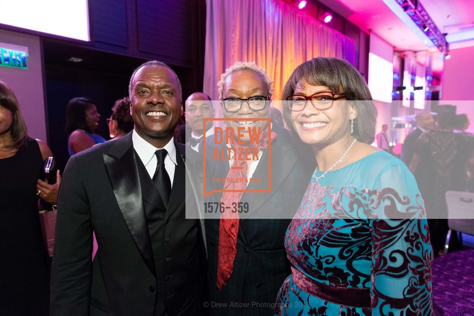 Kevin Johnson, Linda Harrison, Karen Jenkins Johnson, 2015 MoAD Gala: Finding the I in Diaspora, MoAD Museum & The St. Regis, October 10th, 2015,Drew Altizer, Drew Altizer Photography, full-service agency, private events, San Francisco photographer, photographer california